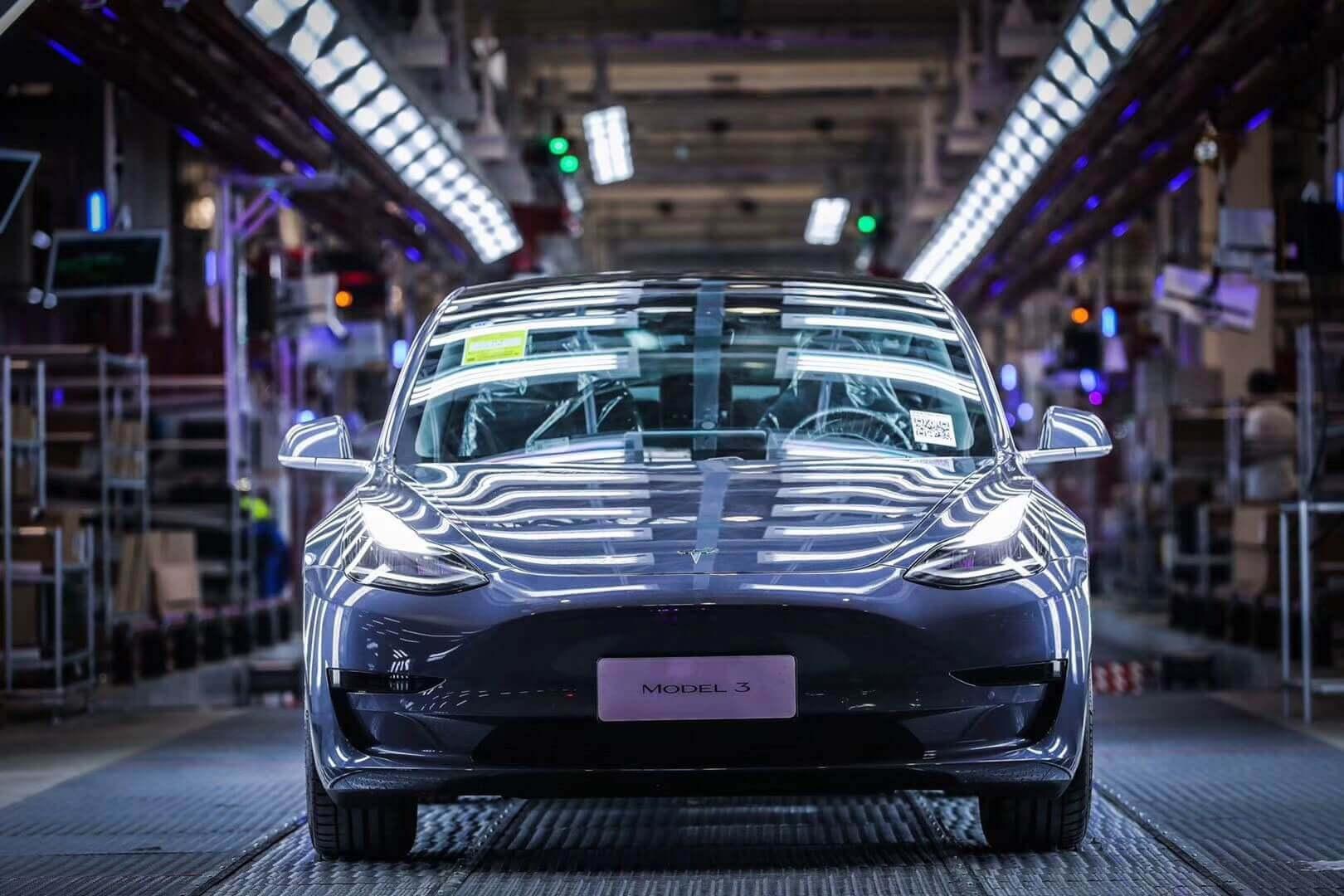 Tesla Model 3 «Made in China»