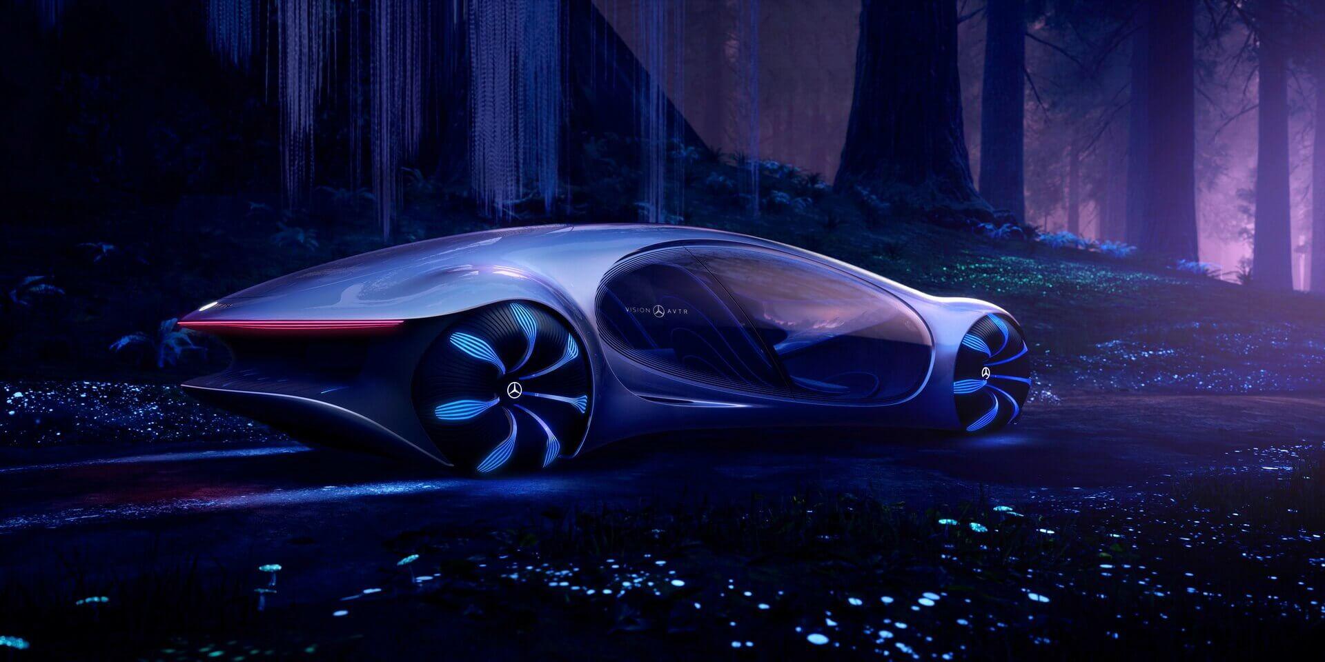 VISION AVTR: концепт «живого» электромобиля с другой планеты от Mercedes-Benz