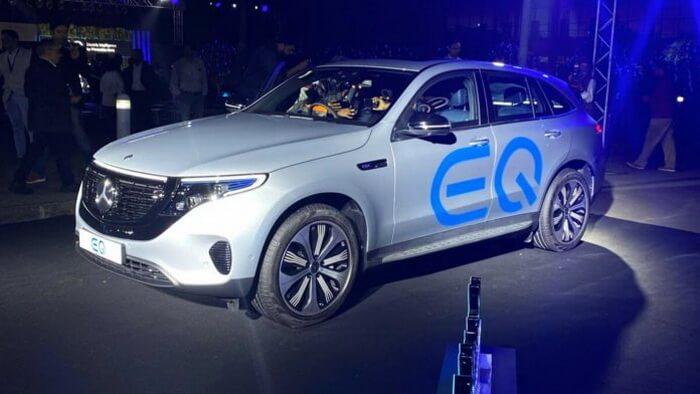 В Индии дебютирует бренд Mercedes EQ, электрокроссовер EQC появится первым на рынке в апреле 2020 года