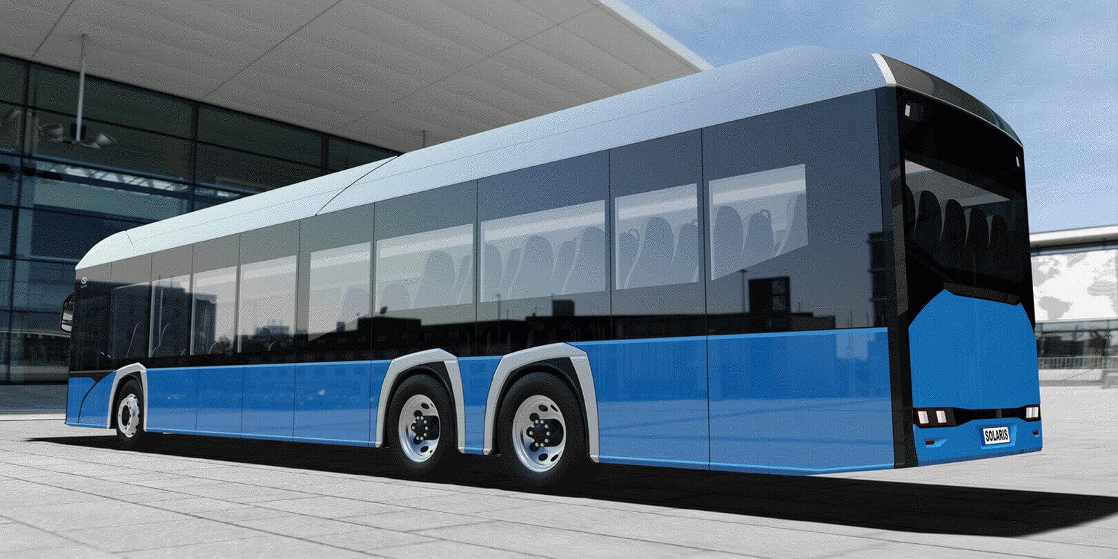 Электрический автобус Solaris 15LE Electric