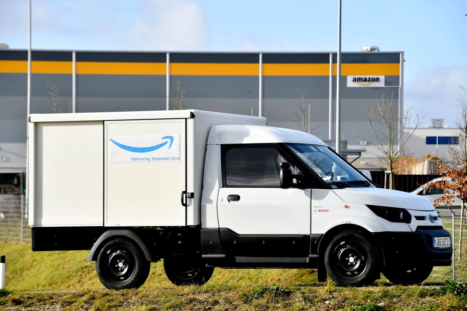 Электрический фургон StreetScooter WORK Box для Amazon