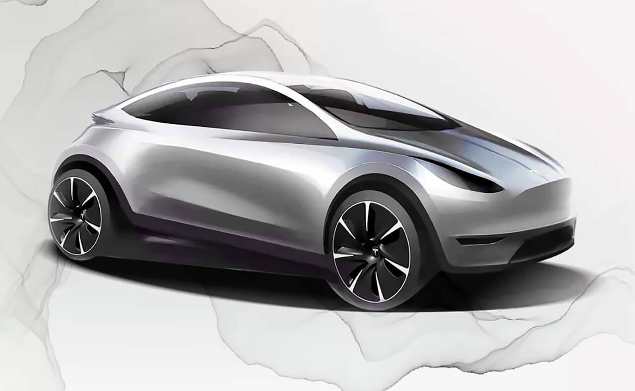 Так может выглядеть Tesla, разработанная в Китае