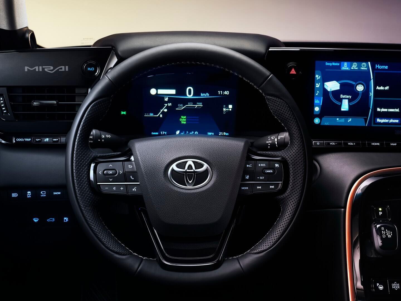 Интерьер Toyota Mirai 2020