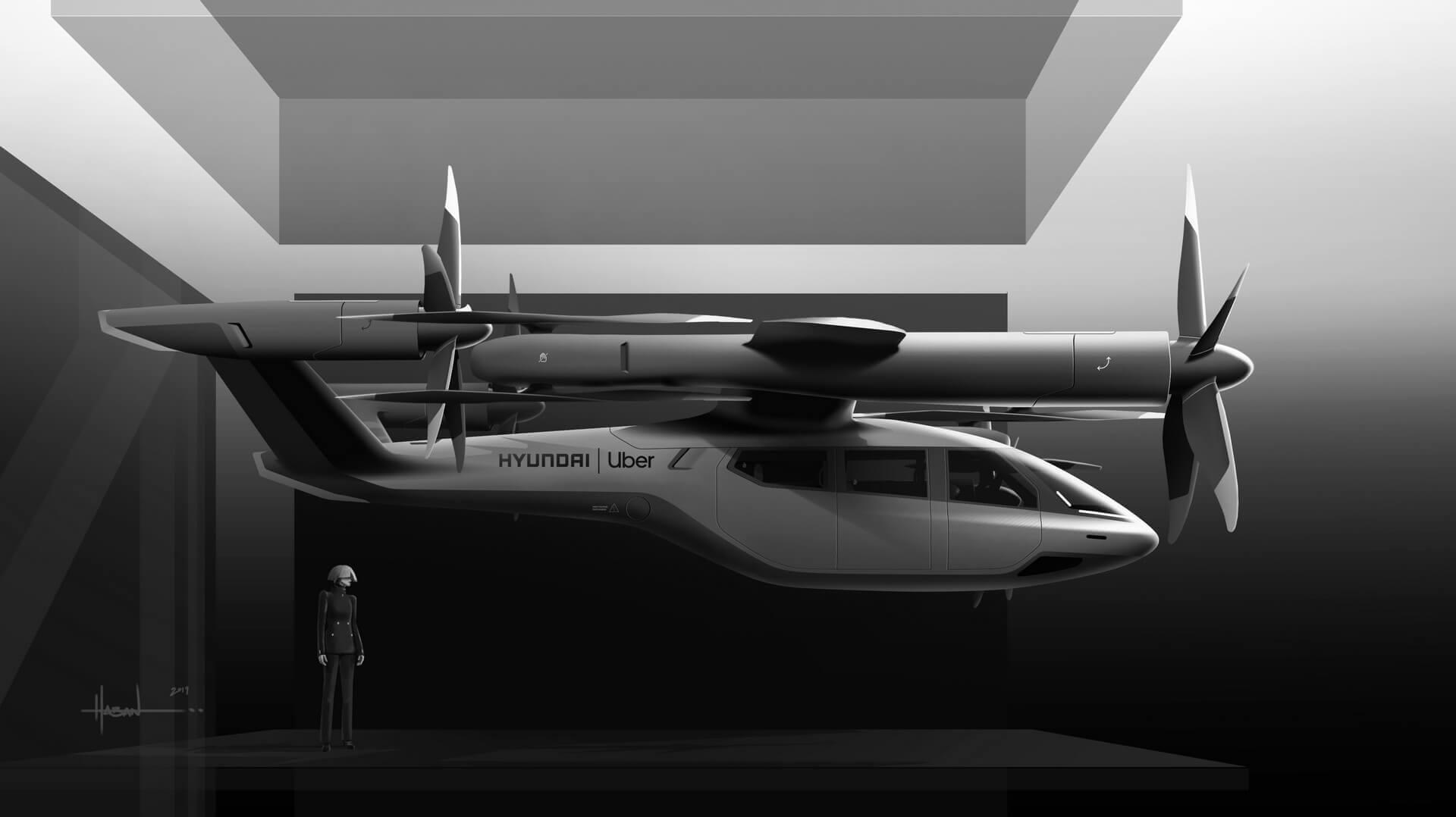«S-A1»: концепт персонального воздушного транспорта, разработанный совместно с Uber