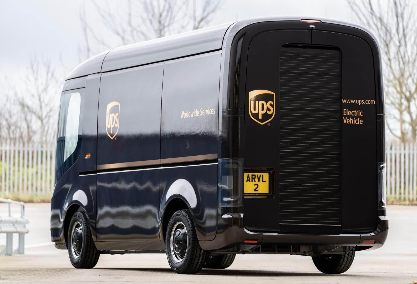 Электрические фургоны на основе «скейтбордной» платформы Arrival