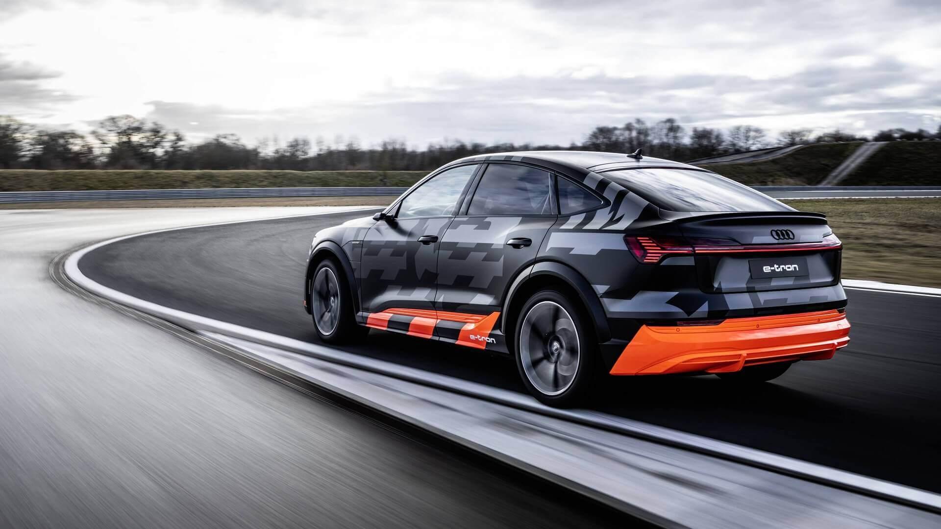 S-версия электрокроссовера Audi e-tron Sportback