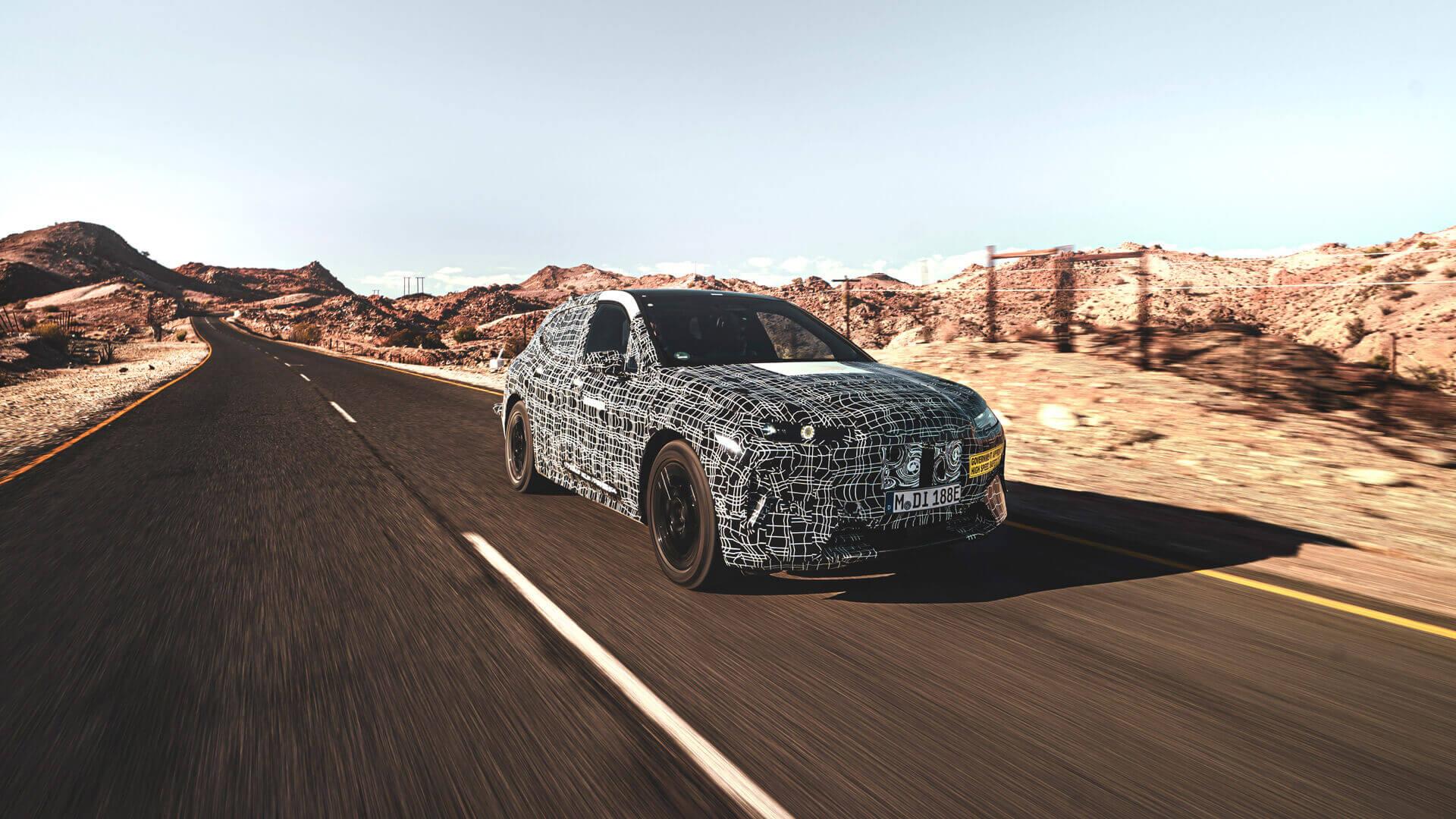 BMW iNEXT проходит экстремальные испытания в пустыне Южной Африки