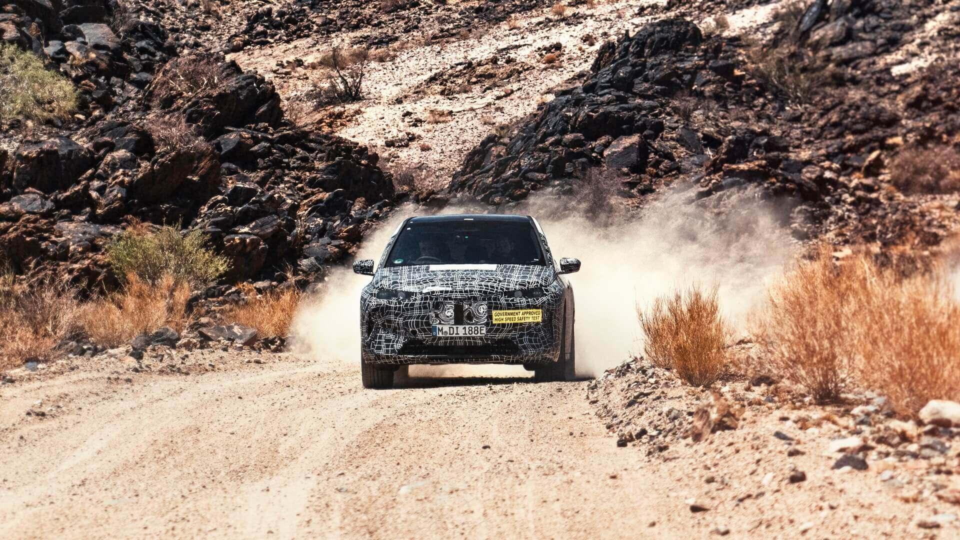 Электрический кроссовер BMW iNEXT проходит экстремальные испытания