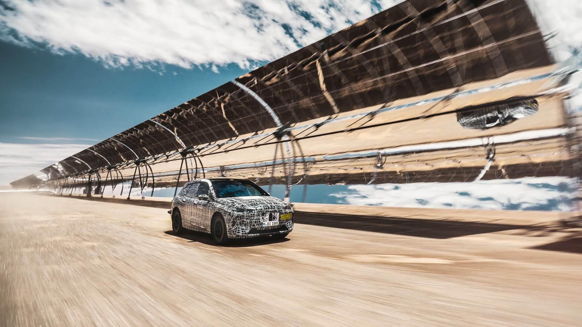 Экстремальные испытания BMW iNEXT в пустыне Южной Африки