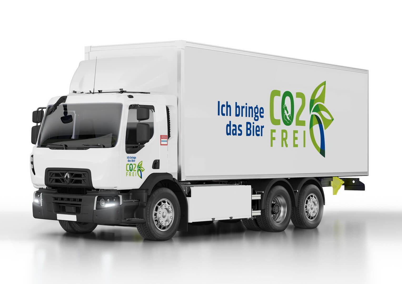Электрический грузовик Renault Trucks D Wide Z.E.