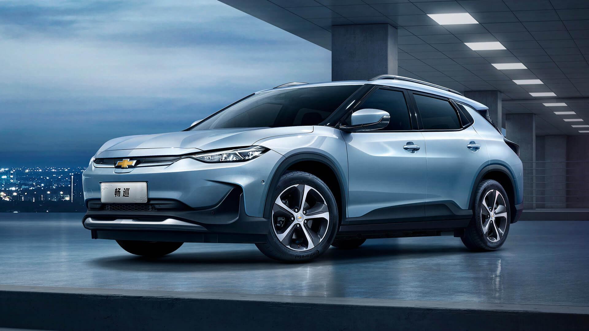 В Китае официально стартовали продажи электромобиля Chevrolet Menlo EV