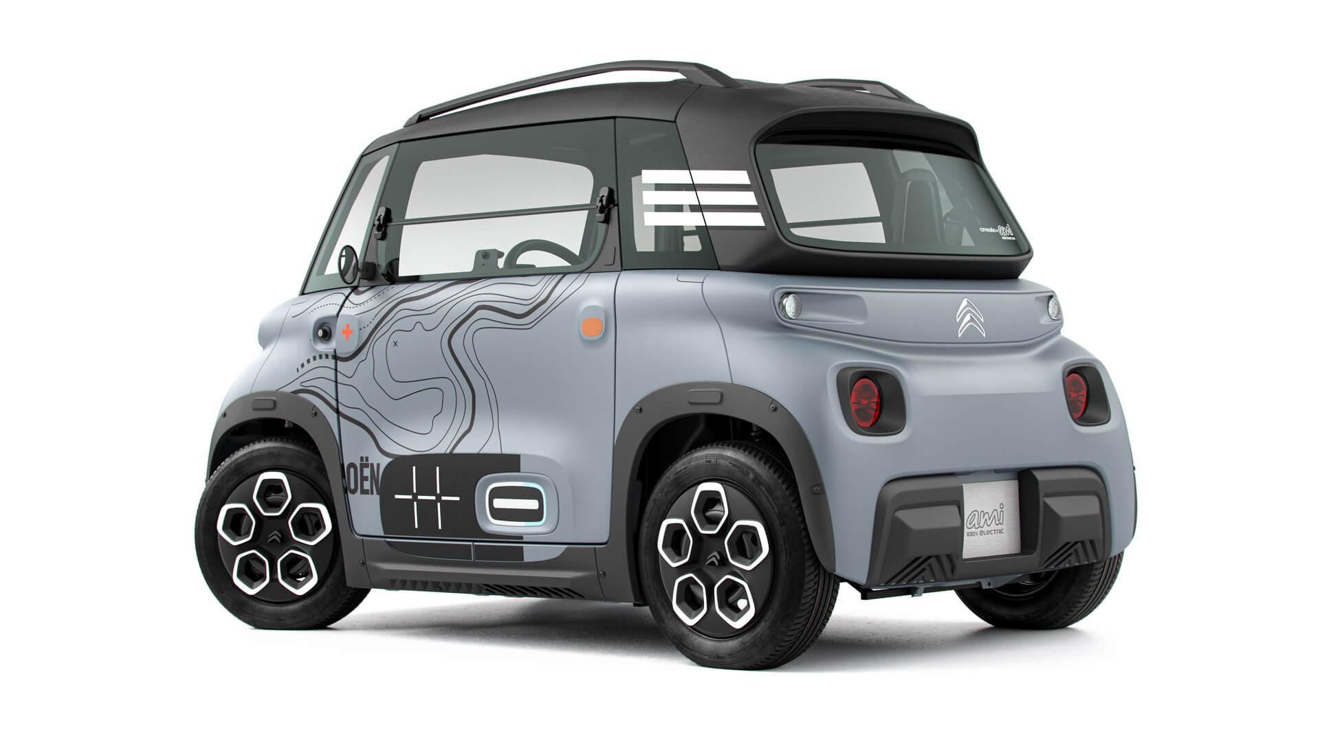 С Ami французы хотят совершить прорыв в городской мобильности