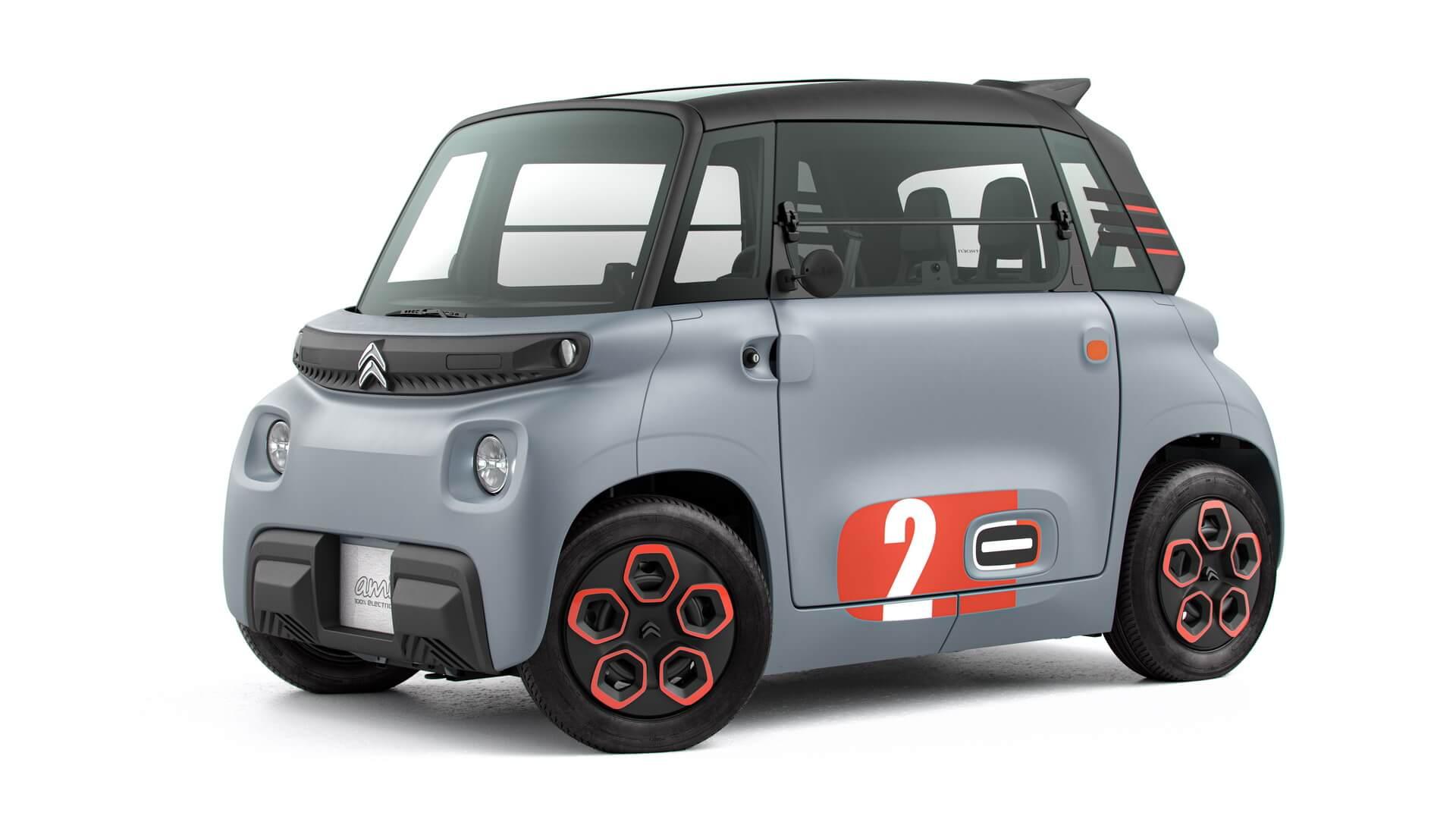 Компактный электрический автомобиль Citroen Ami за €6 000