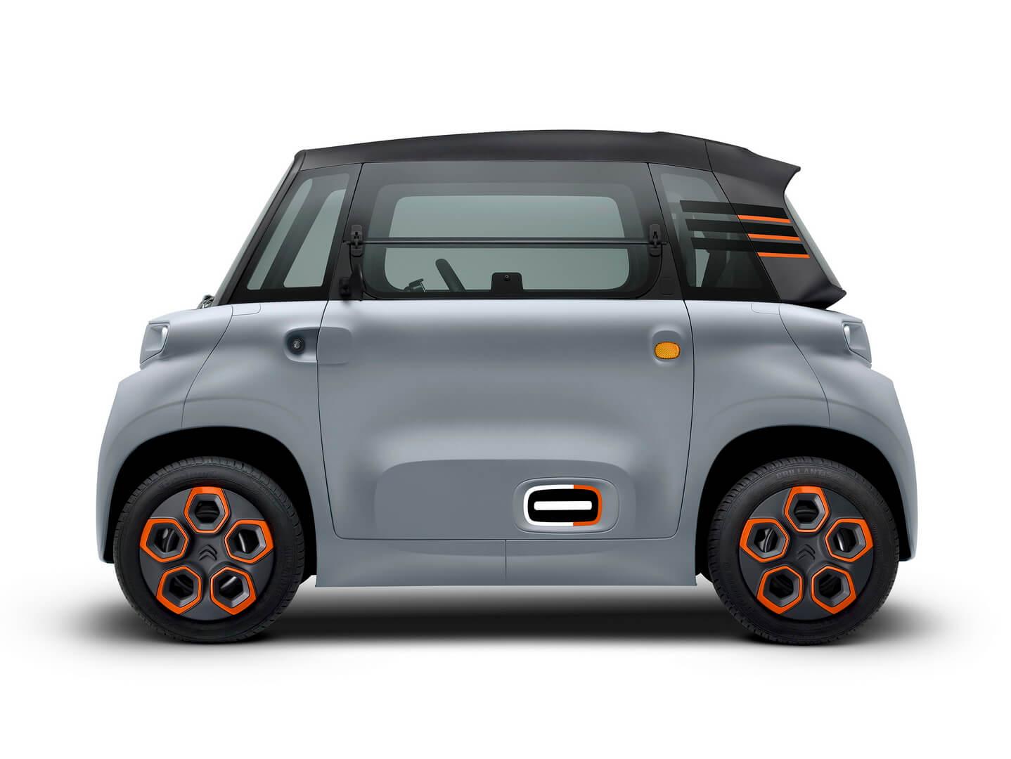 Citroën демонстрирует компактный электрический автомобиль за €6 000