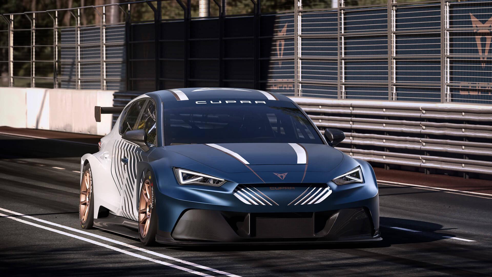 SEAT представляет CUPRA e-Racer для гоночного чемпионата ETCR