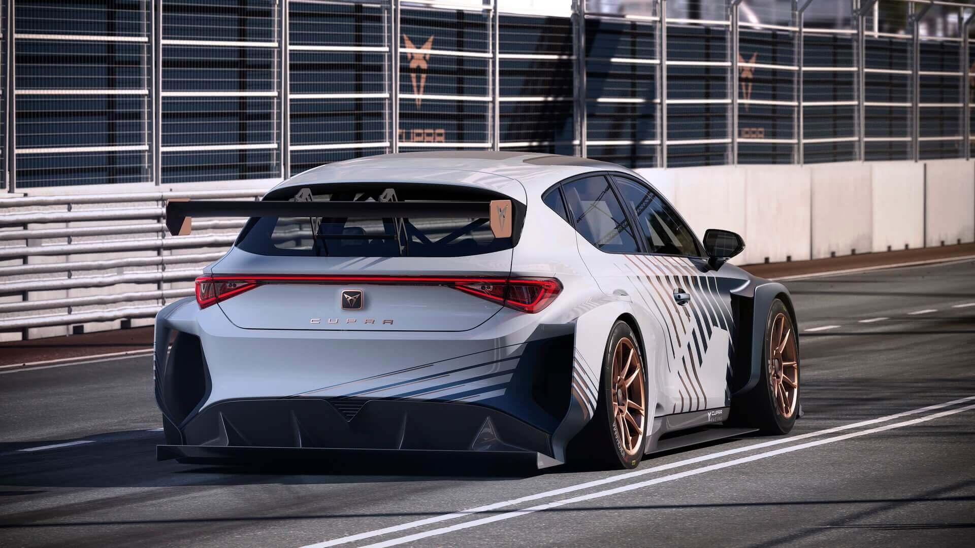 CUPRA e-Racer - полностью электрический туристический автомобиль с мощностью 670 л.с.