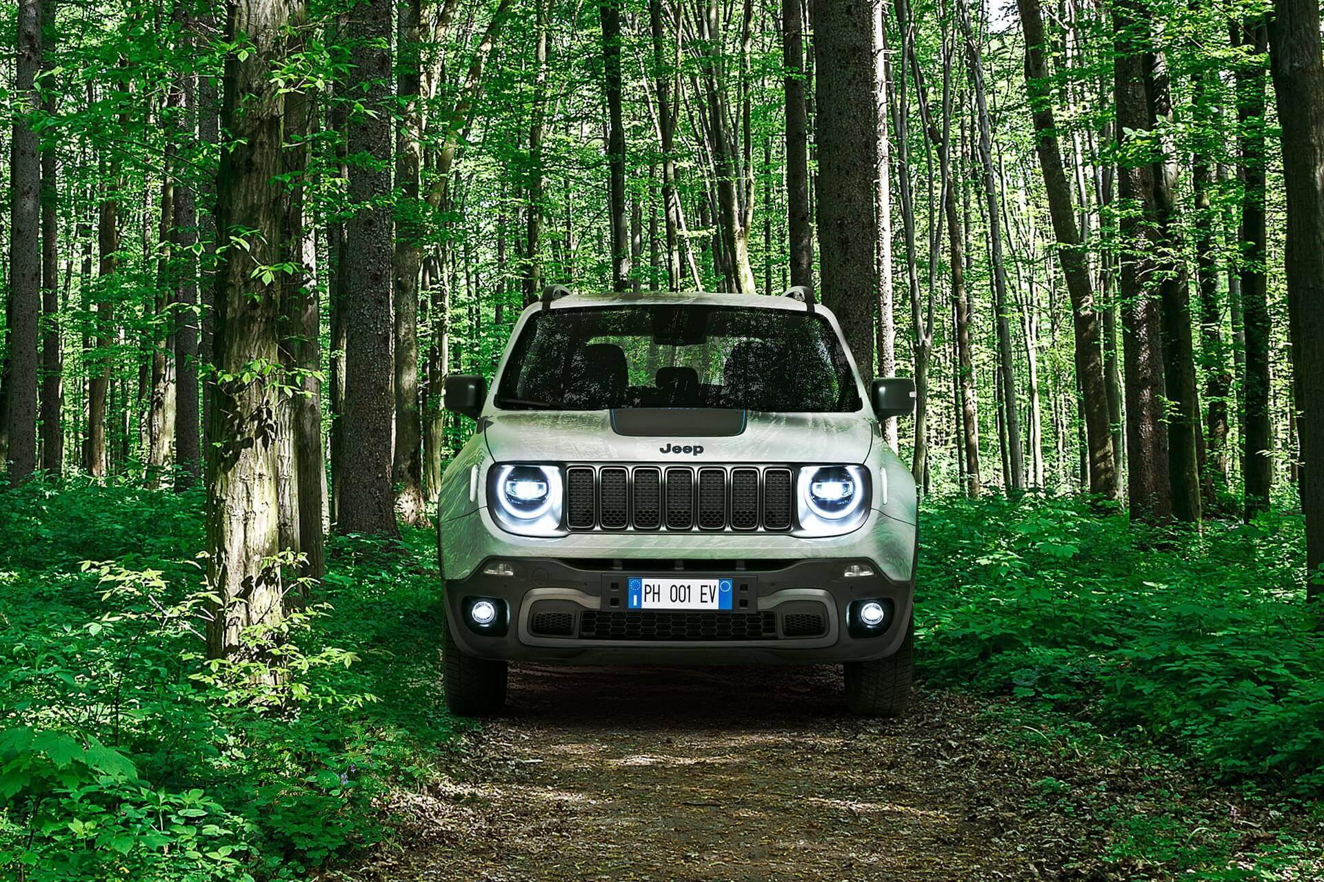 Фотография экоавто Jeep Renegade 4xe - фото 5