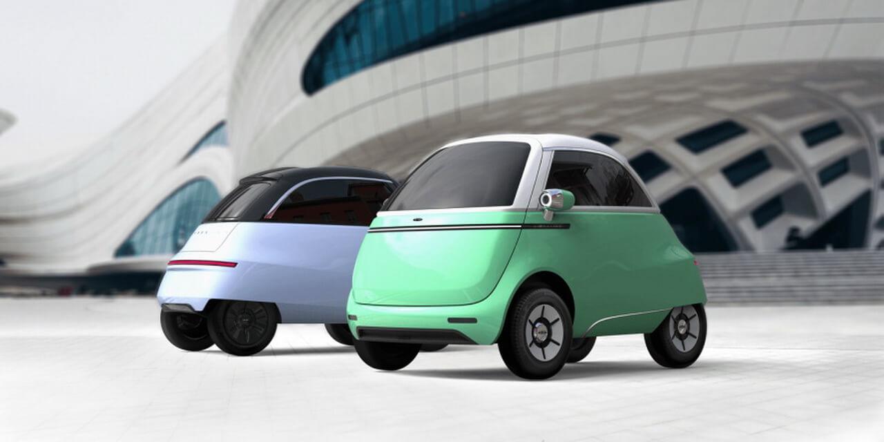 Компактный электромобиль Microlino 2.0