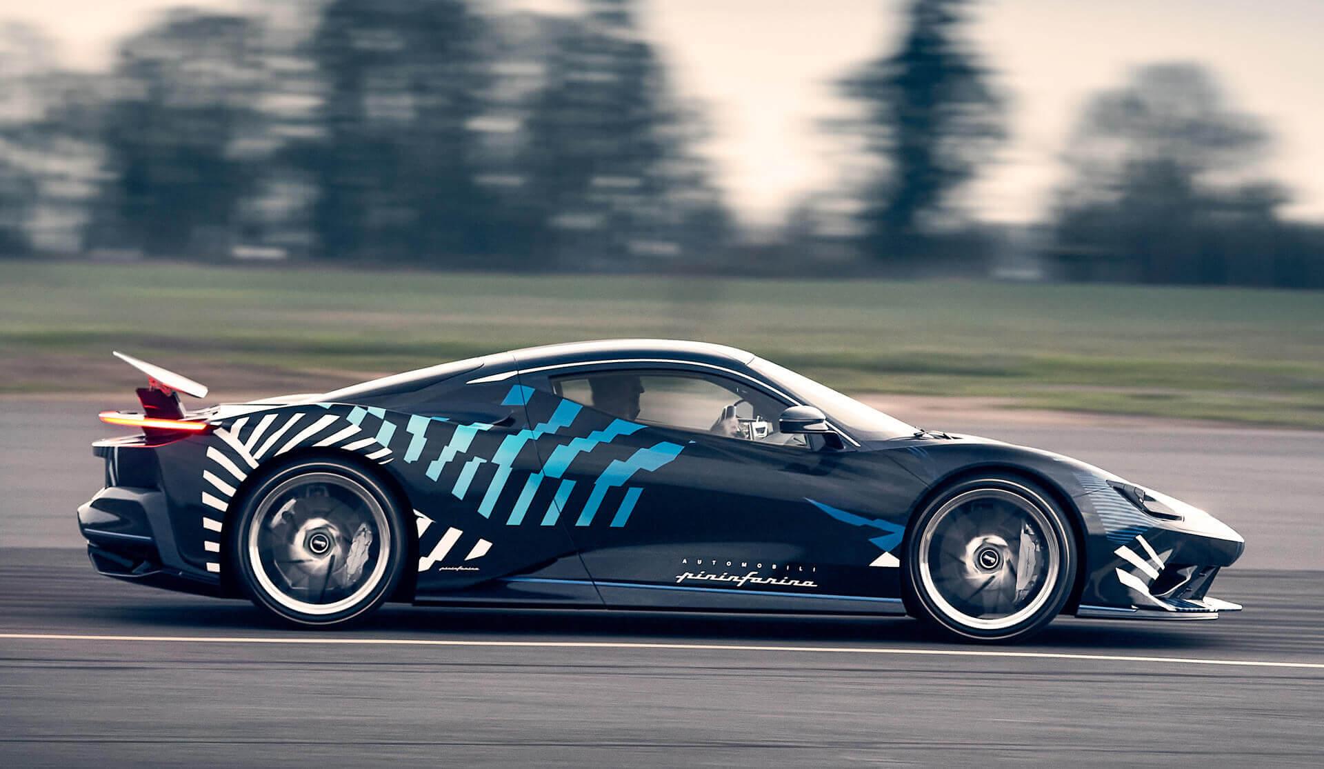 Pininfarina начала тестовые испытания электрического гиперкара Battista