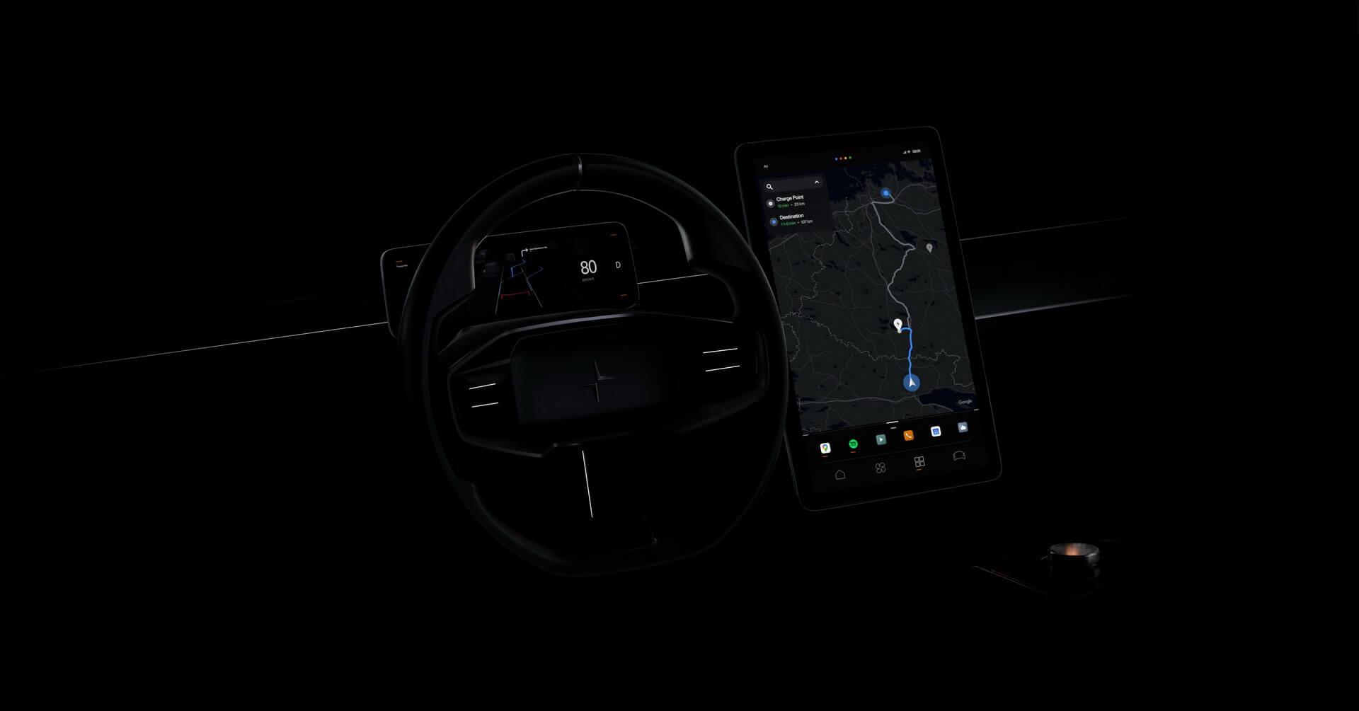 Polestar и Google обеспечат персонализацию и лучший цифровой автомобильный опыт