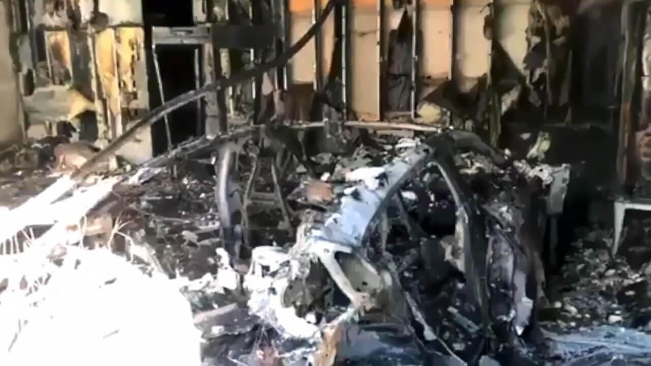 Первый случай возгорания Porsche Taycan зафиксирован во Флориде