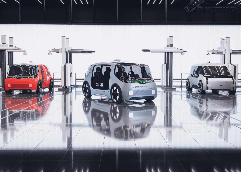 В качестве миссии Destination Zero концепция Project Vector демонстрирует усовершенствованный, гибкий, многоцелевой электромобиль, который «готов к автономии»