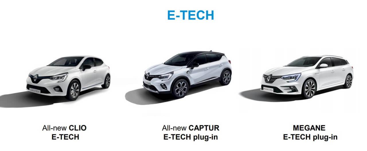 Плагин-гибриды Renault: Clio, Captur и Mégane Estate