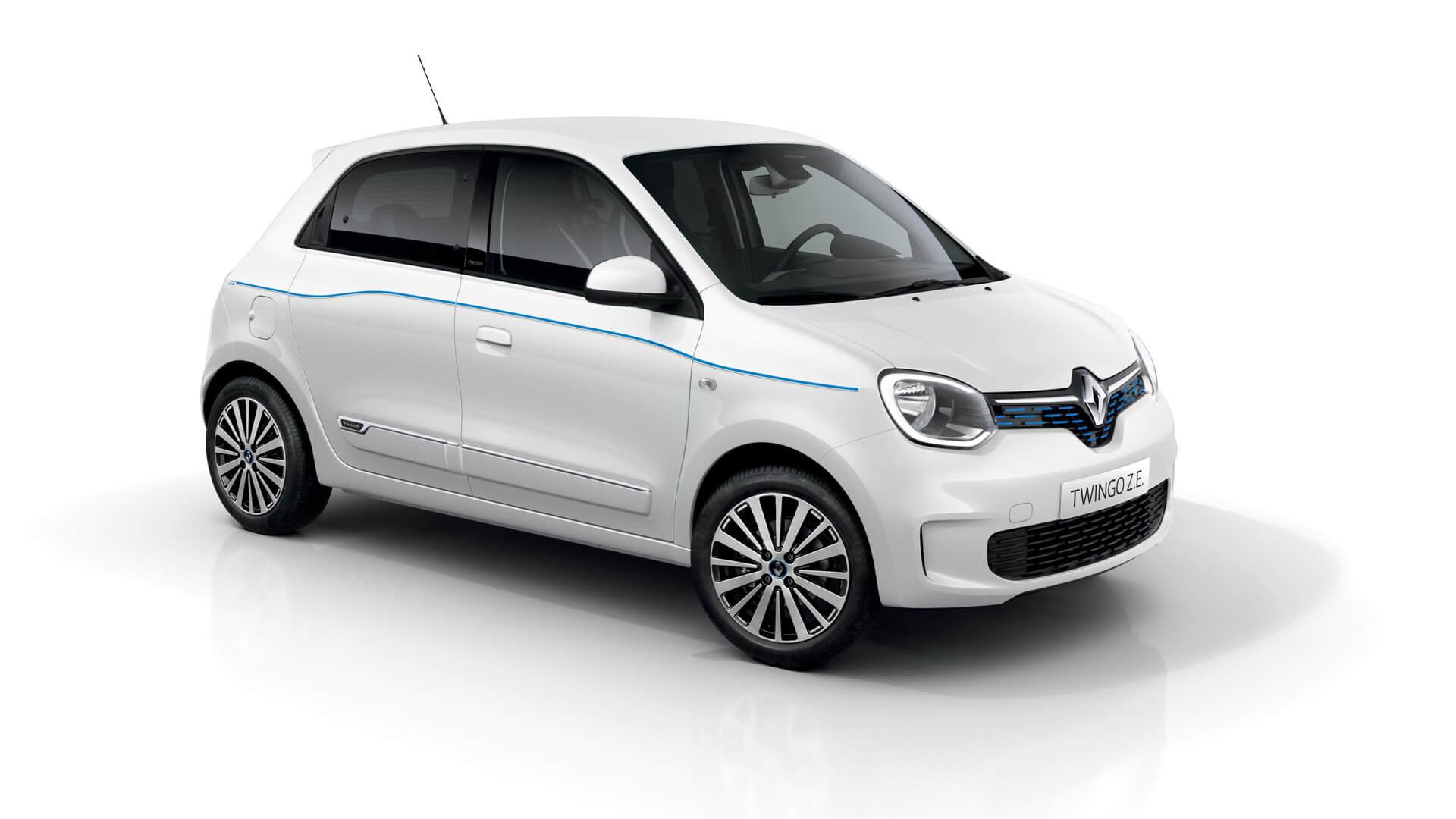 Городской электромобиль Renault Twingo Z.E.
