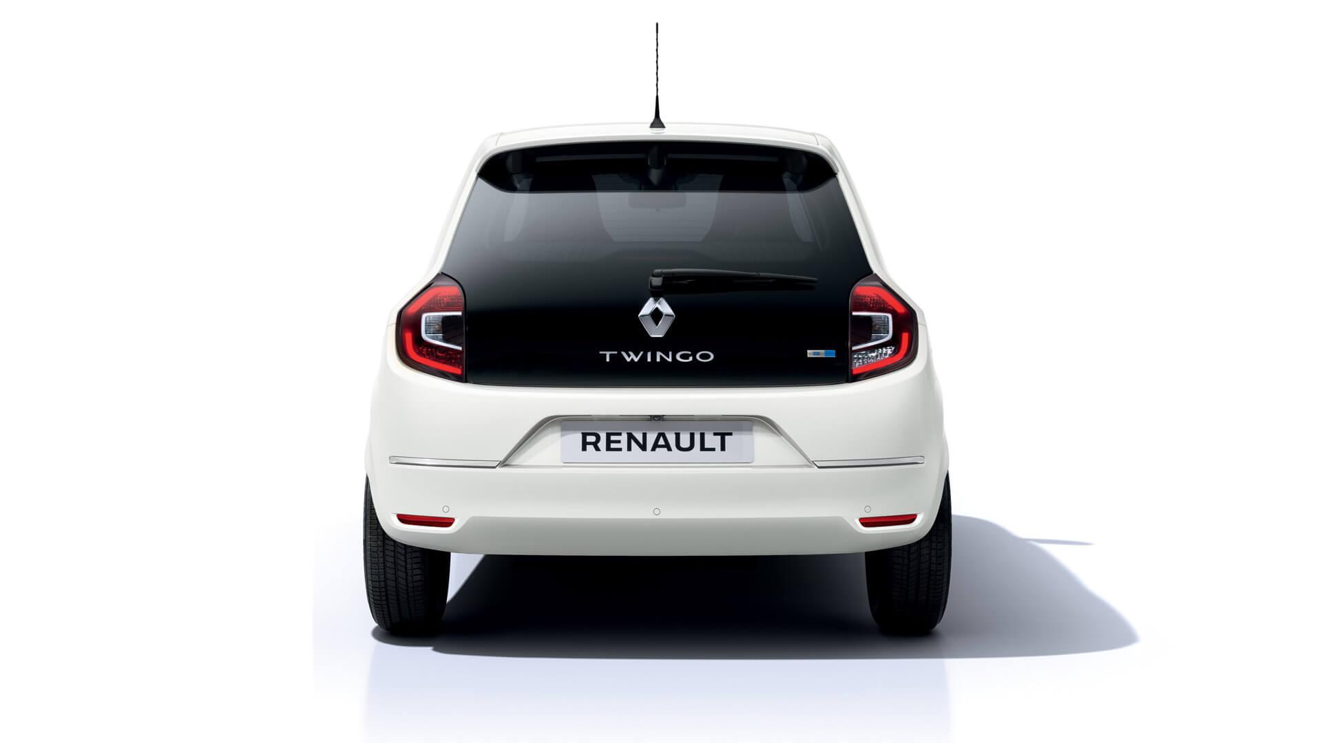 Электромобиль Renault Twingo Z.E. - вид сзади