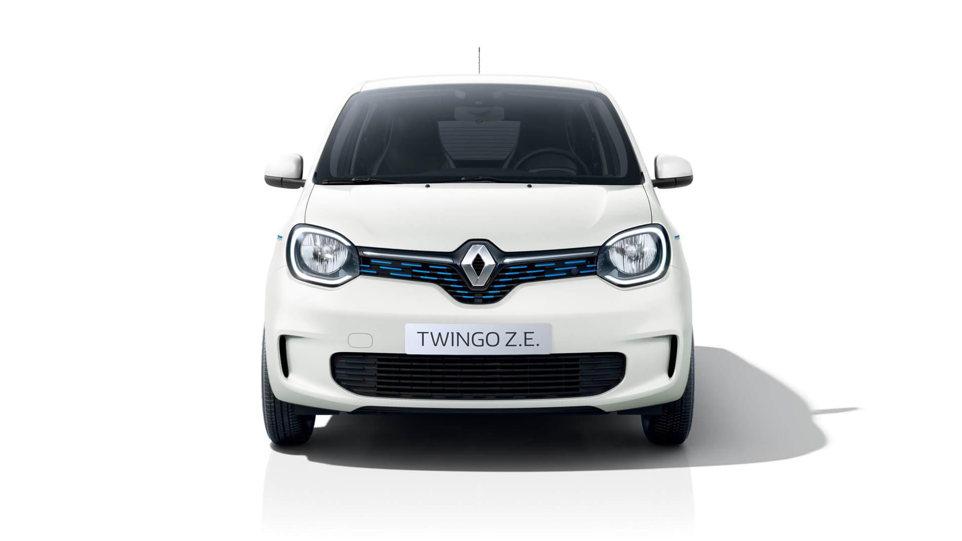 Электромобиль Renault Twingo Z.E. - вид спереди