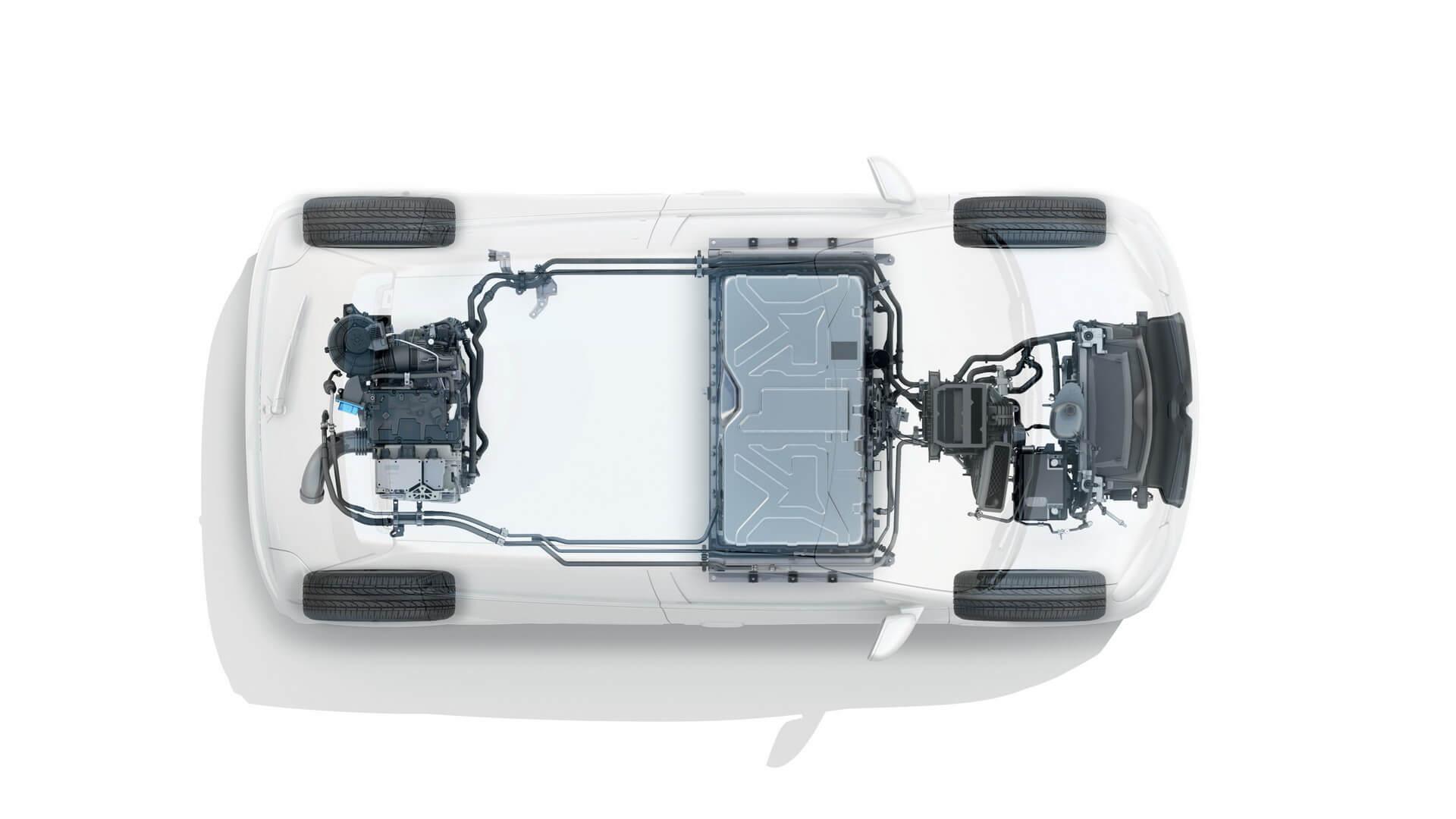 Силовая установка Renault Twingo Z.E.
