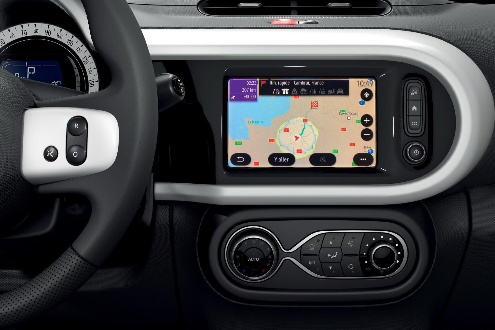 Мультимедия Renault Twingo Z.E.