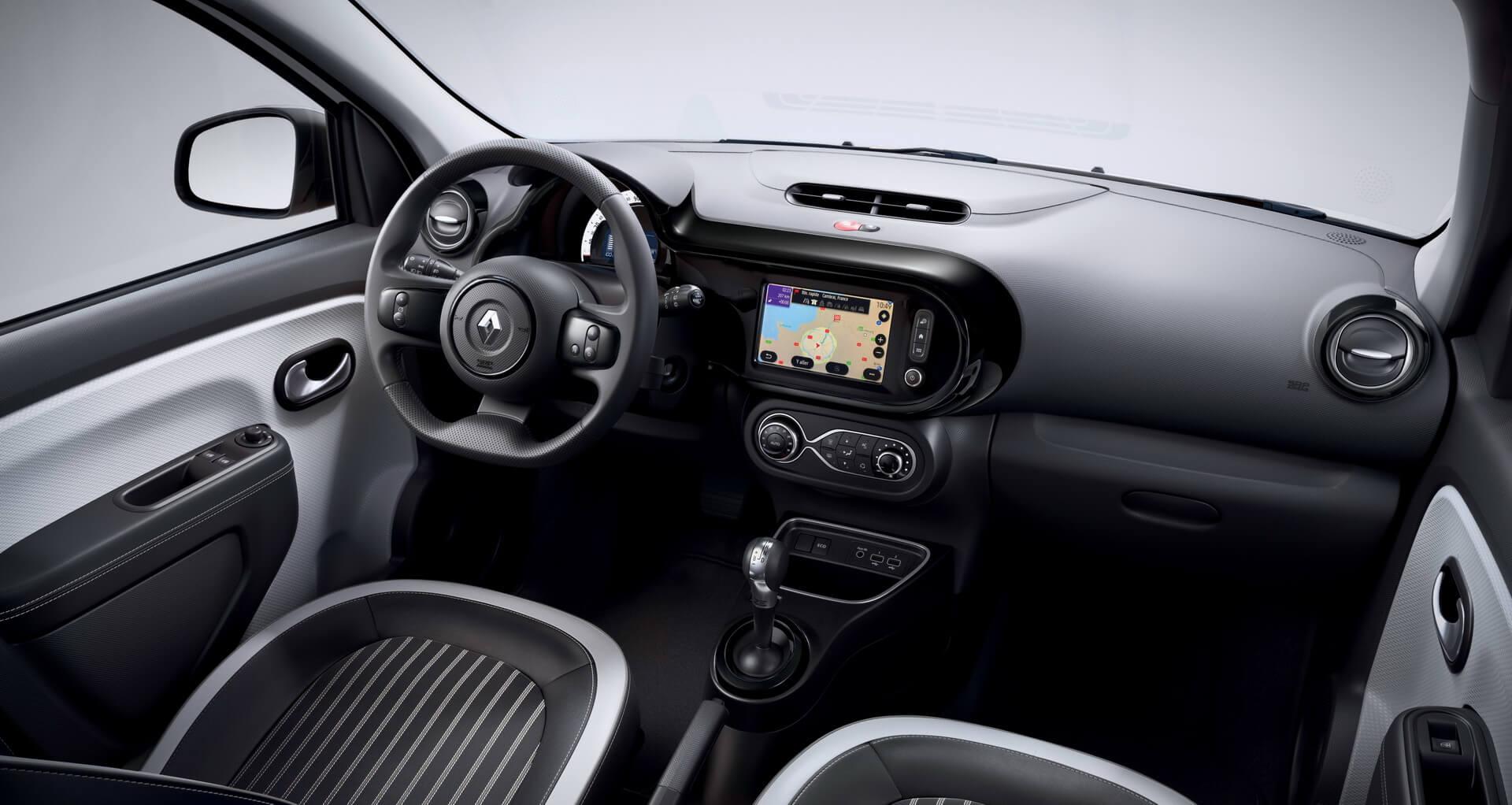 Салон Renault Twingo Z.E.