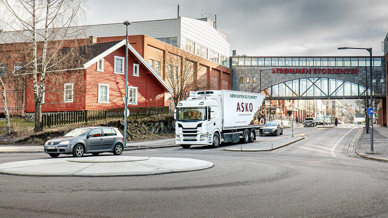 Scania внедрила электрические грузовики вНорвегии