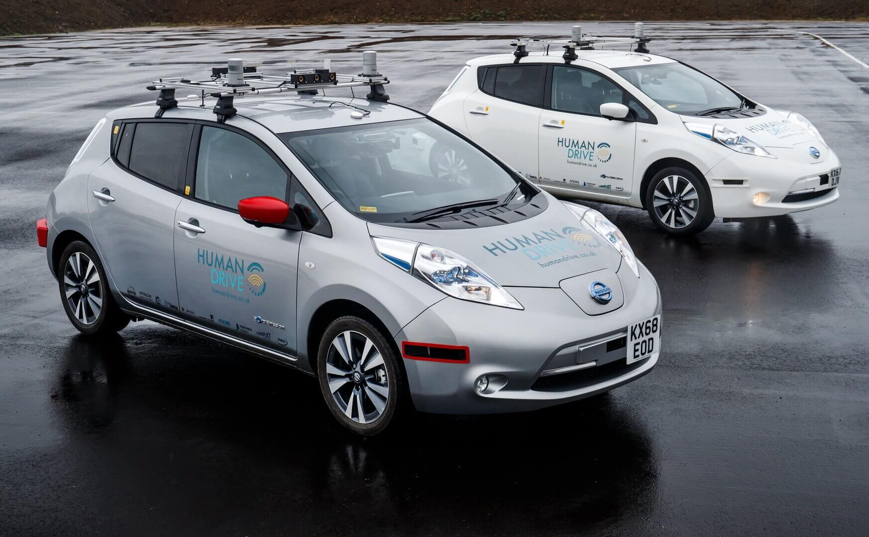 Nissan Leaf совершил 370-километровое автономное путешествие по Великобритании