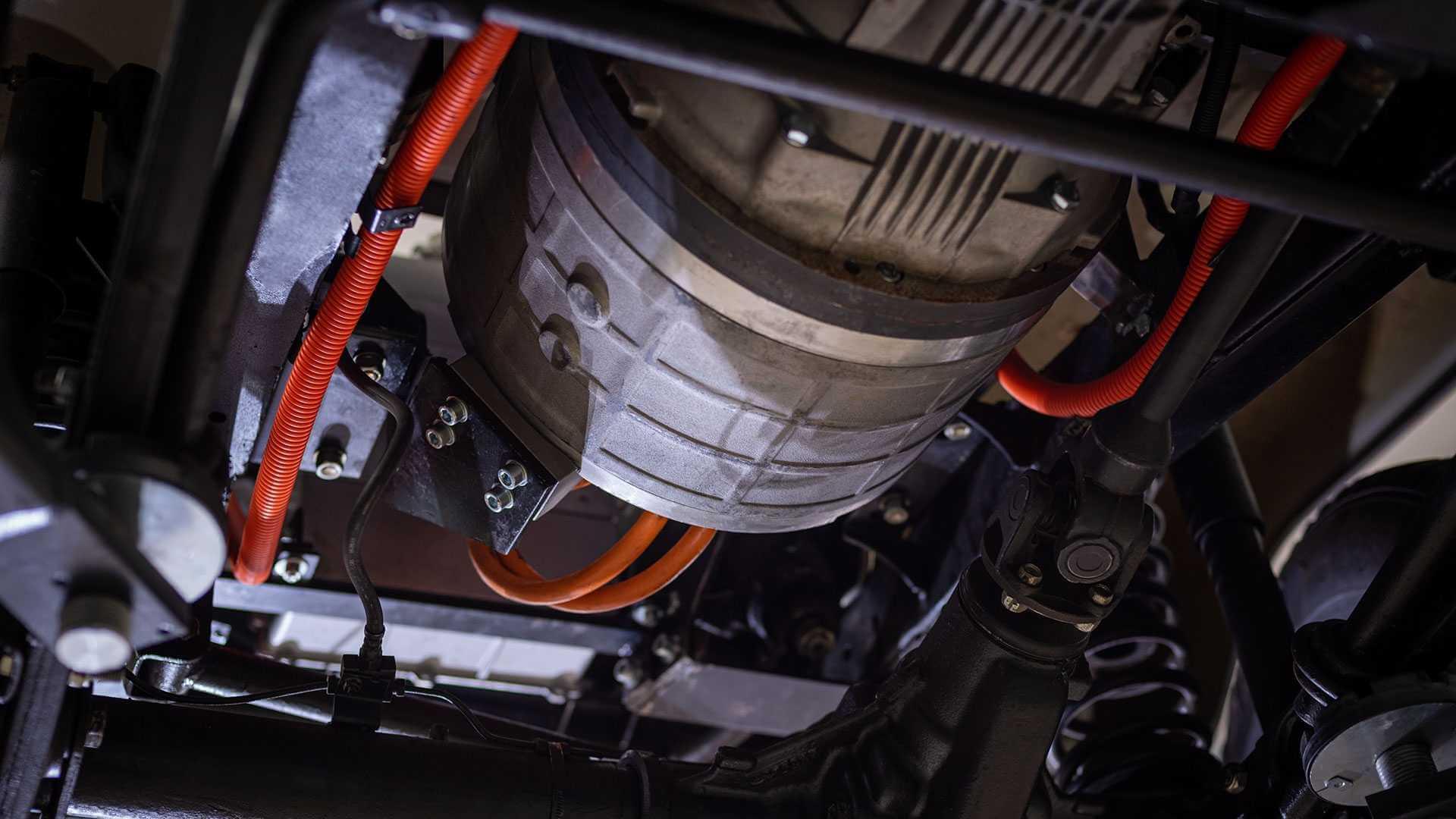 Электрический двигатель MWM Spartan