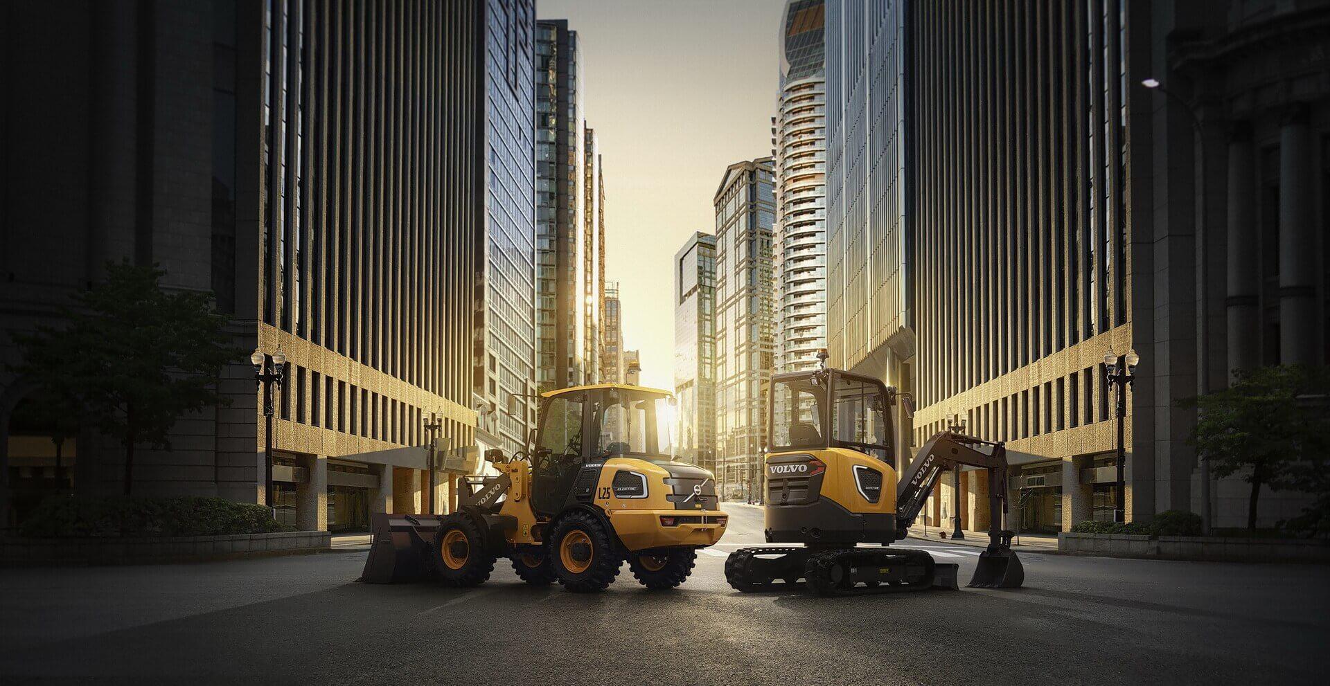 Электрические строительные машины Volvo CE доступны для предзаказа