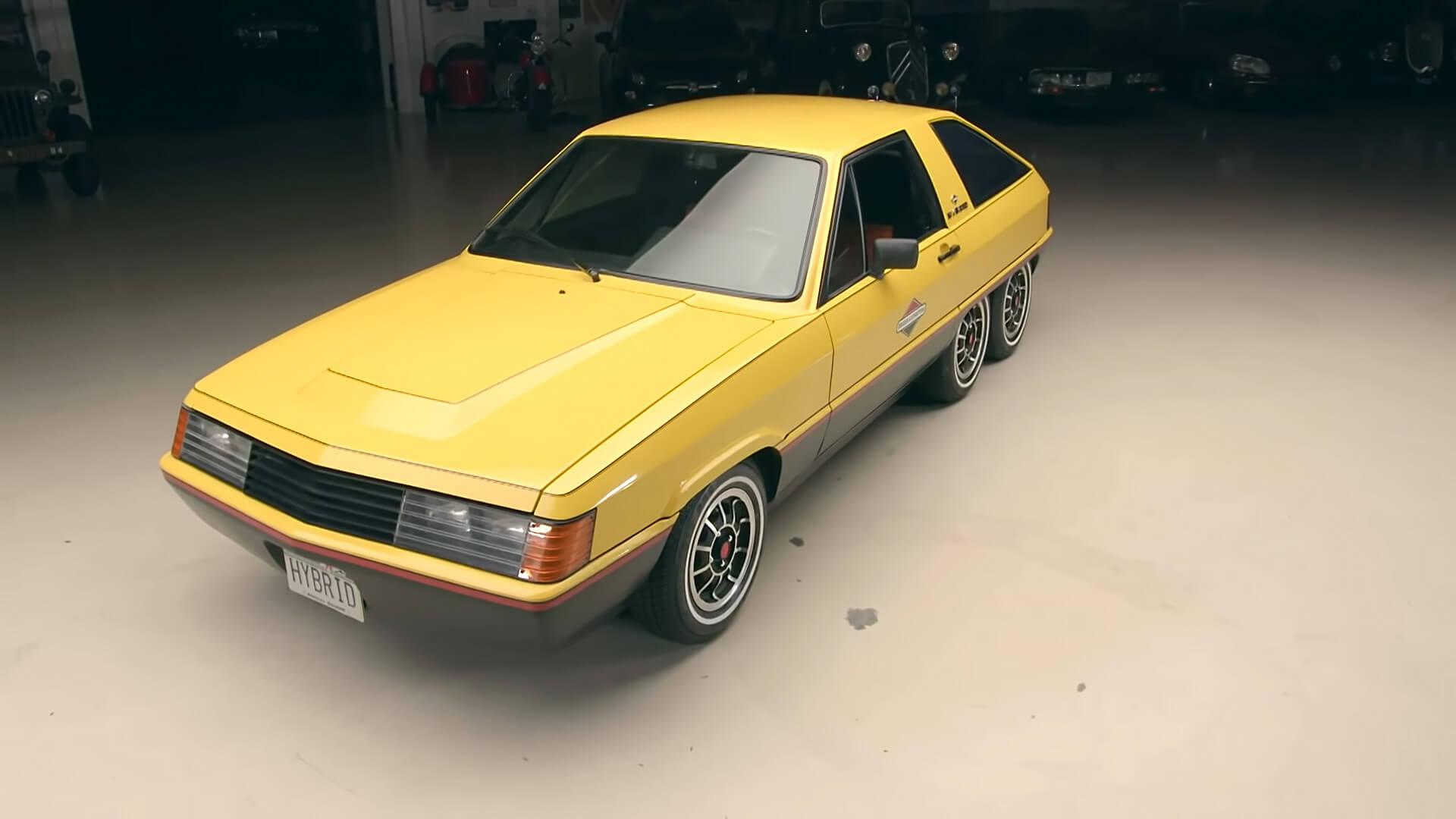 Концептуальный автомобиль Briggs & Stratton Hybrid 1980 года имел корпус из стекловолокна для компенсации веса 12 аккумуляторов