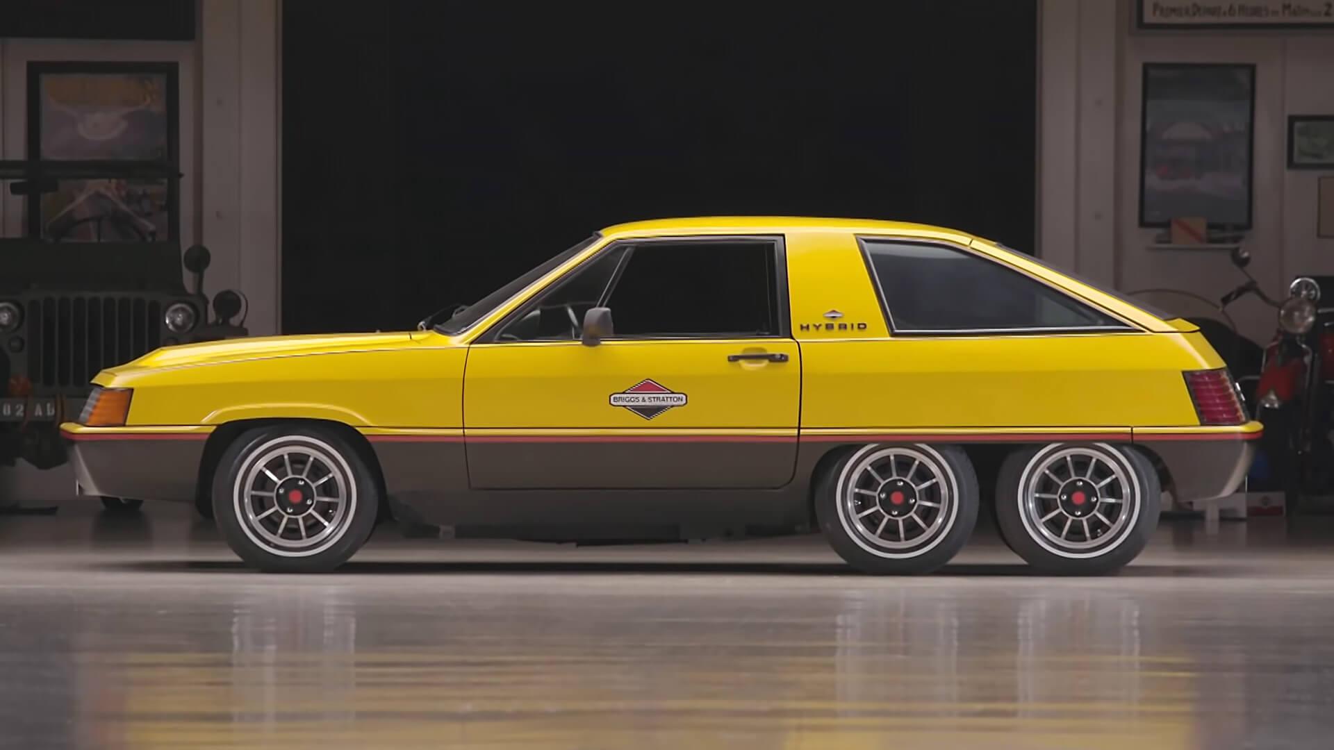 6-колесный концепт Briggs & Stratton Hybrid 1980 года