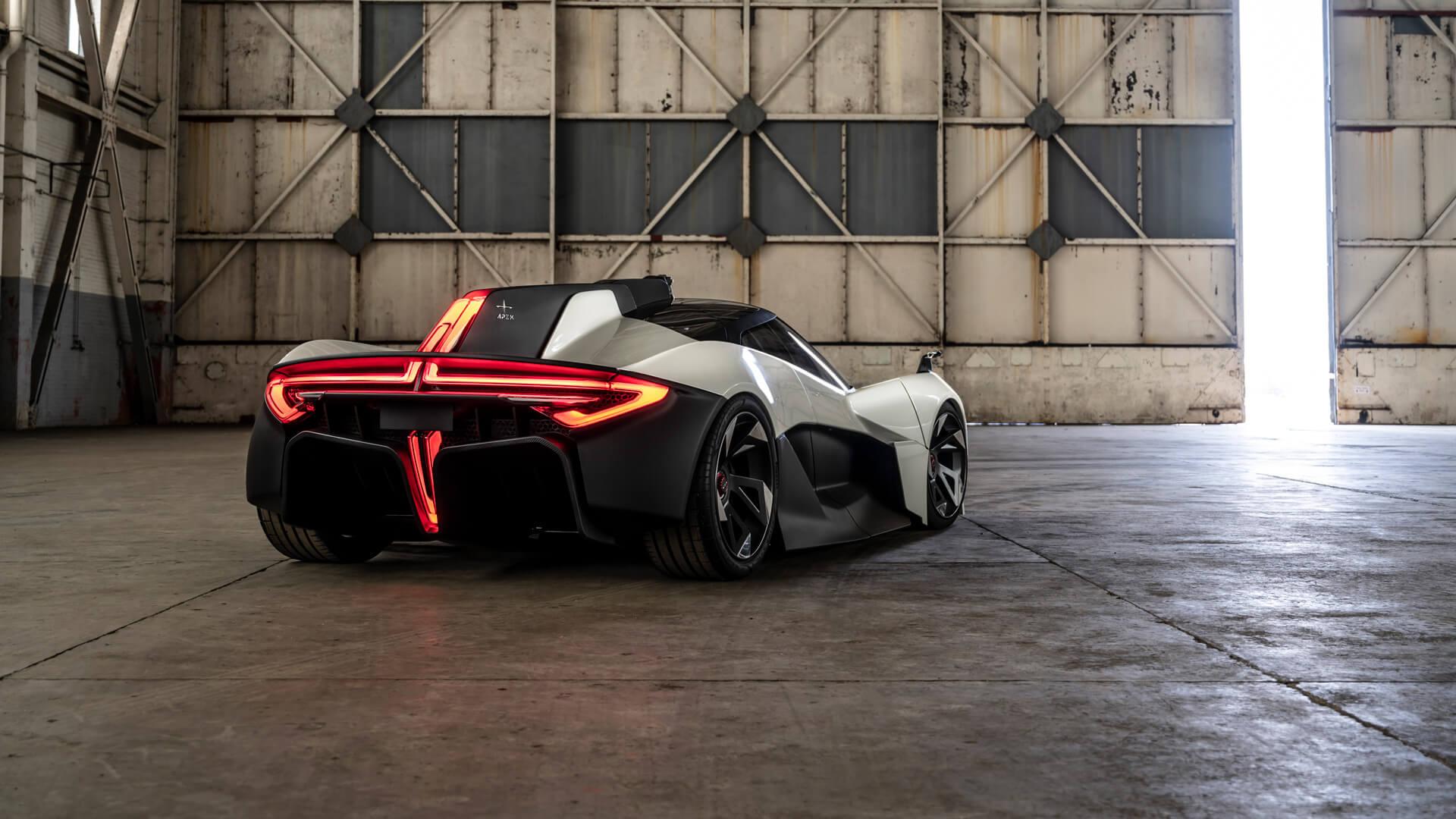Apex Motors представляет полностью электрический спорткар AP-0