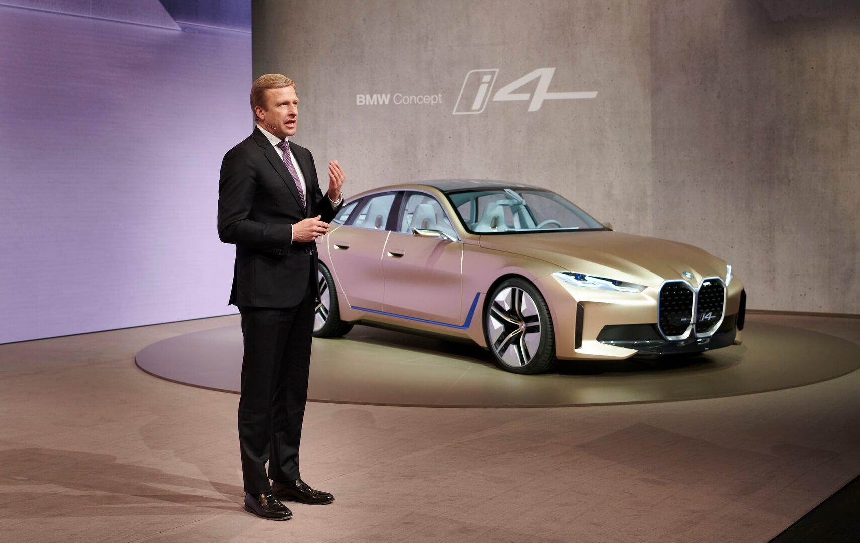 Оливер Ципсе на ежегодной пресс-конференции BMW Group