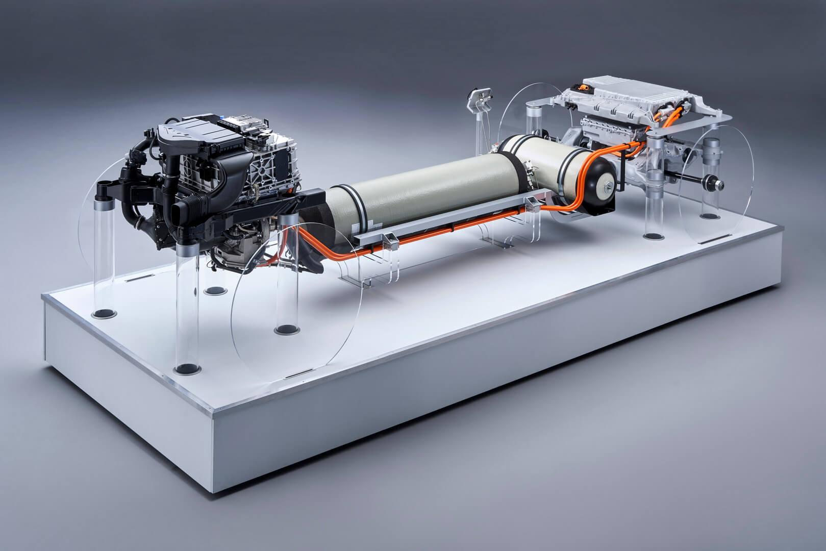 Система топливных элементов BMW i Hydrogen NEXT