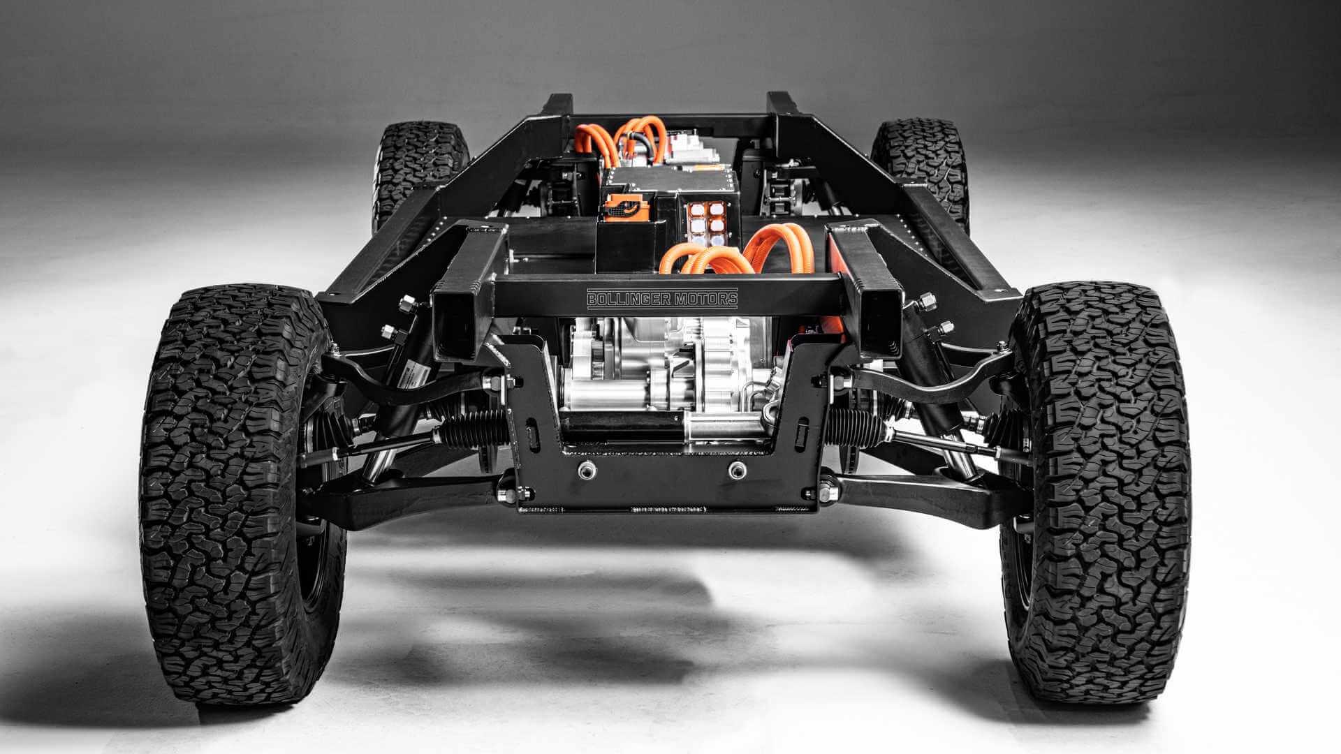 Bollinger Motors представил электрическую платформу E-Chassis