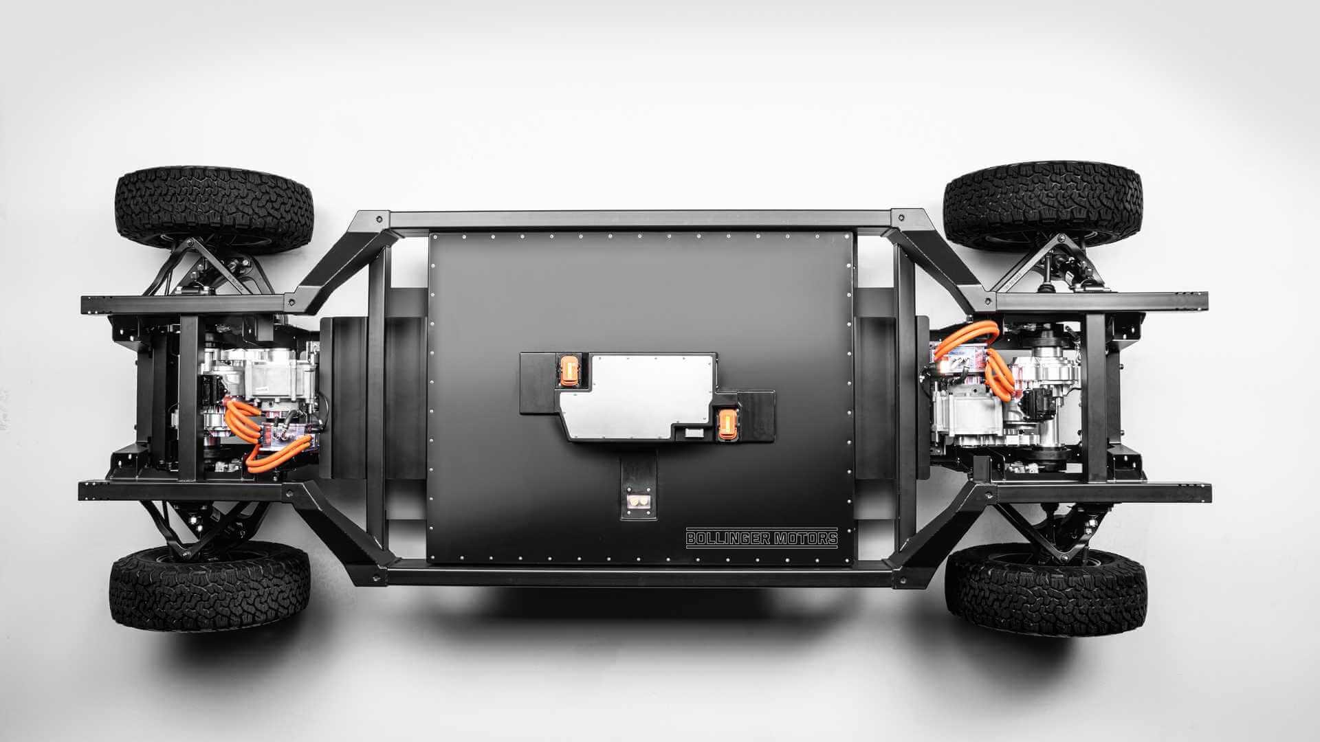 Bollinger E-Chassis первая и единственная в мире EV-платформа 3 класса