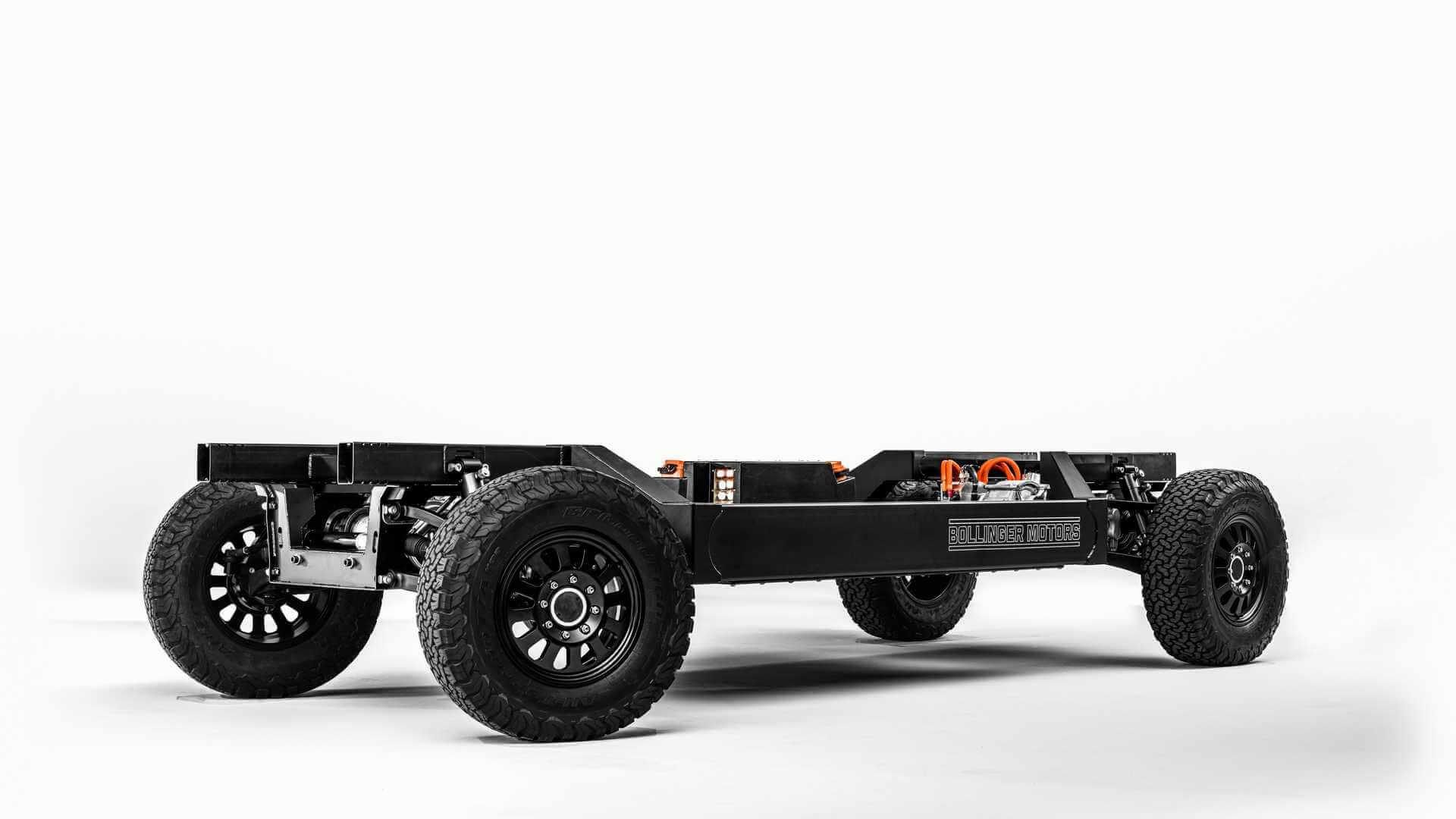 Электромобильная платформа Bollinger E-Chassis