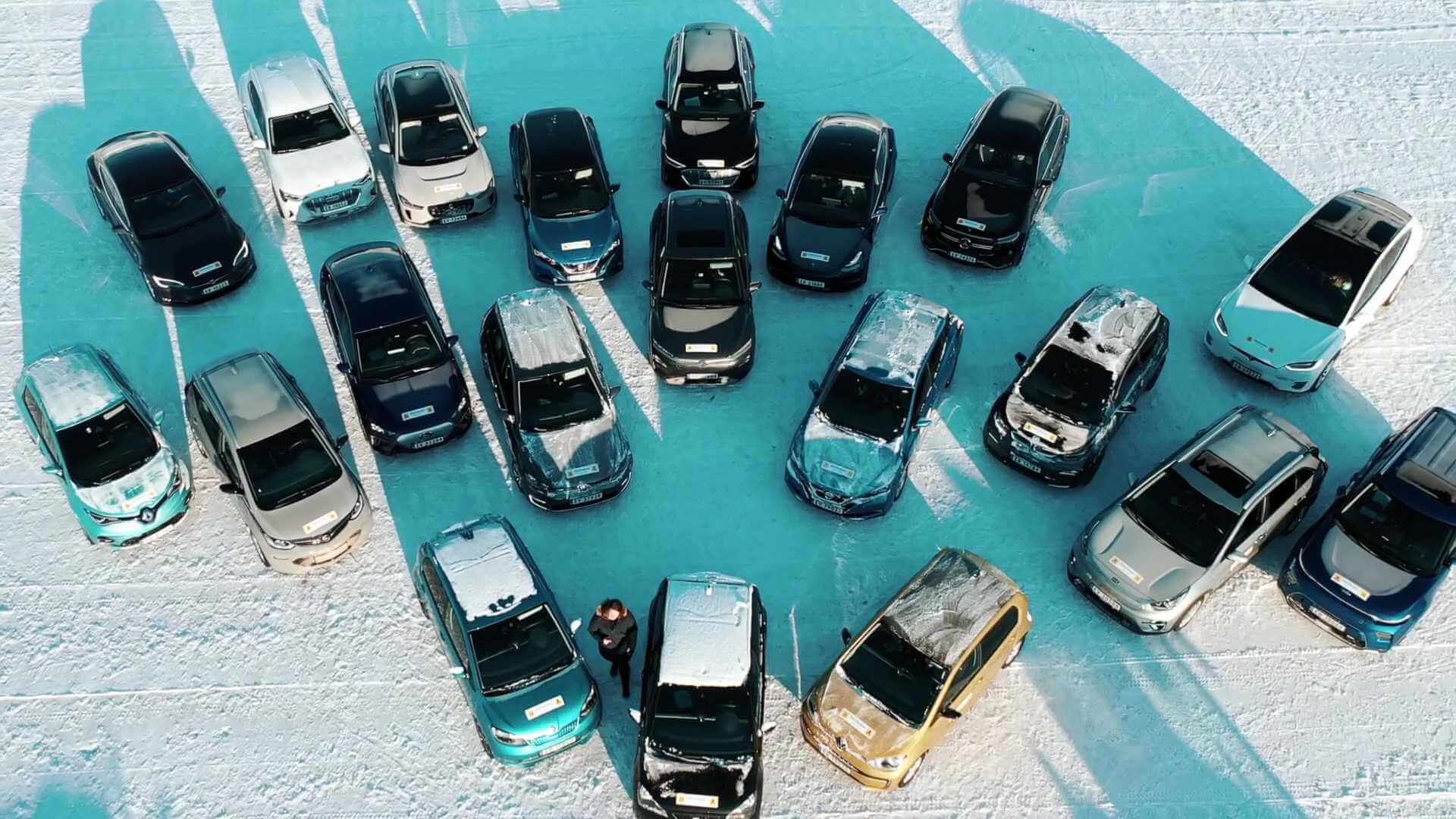 20 популярных электромобилей протестированы в норвежских зимних условиях