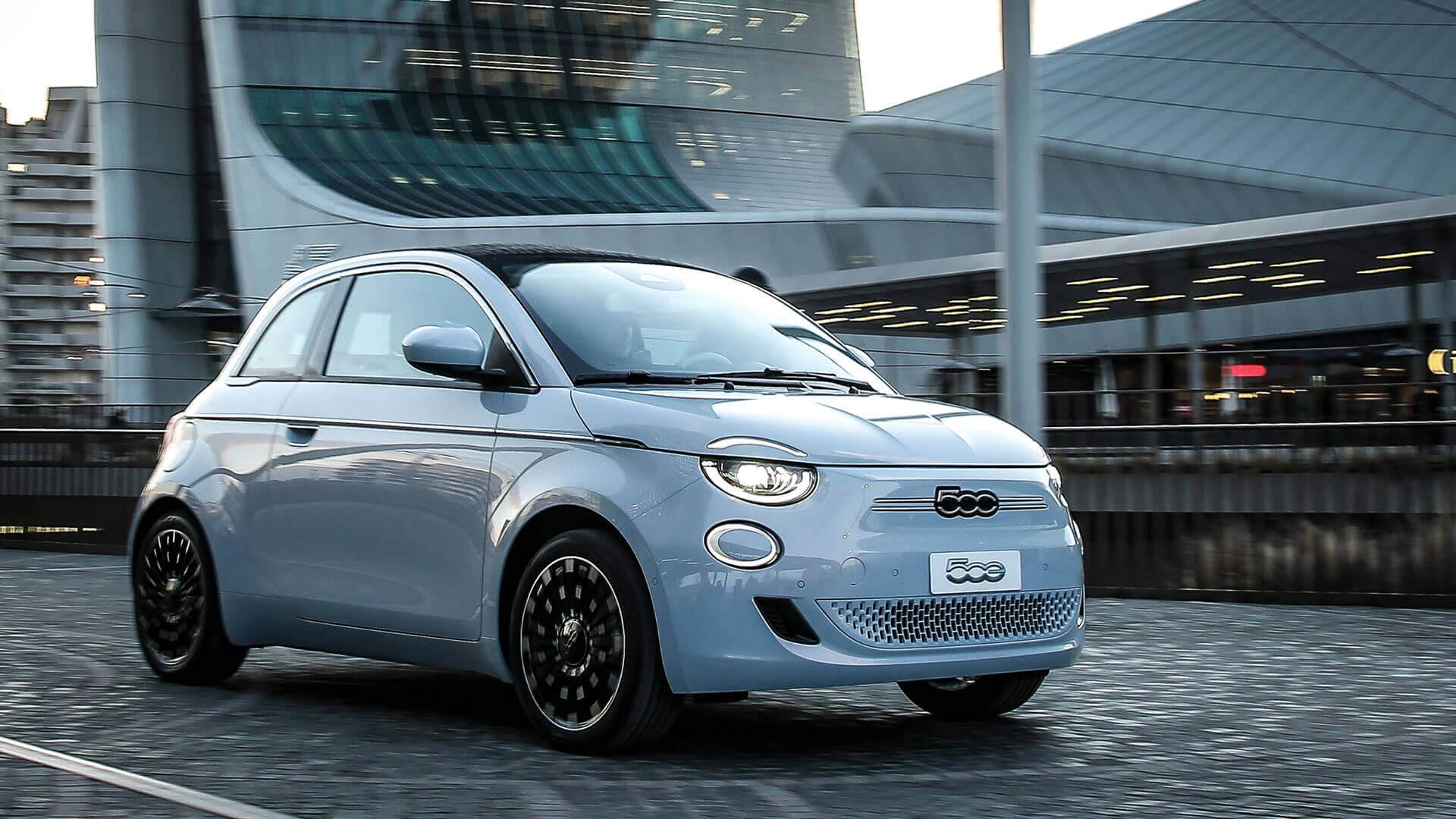 Новый Fiat 500e