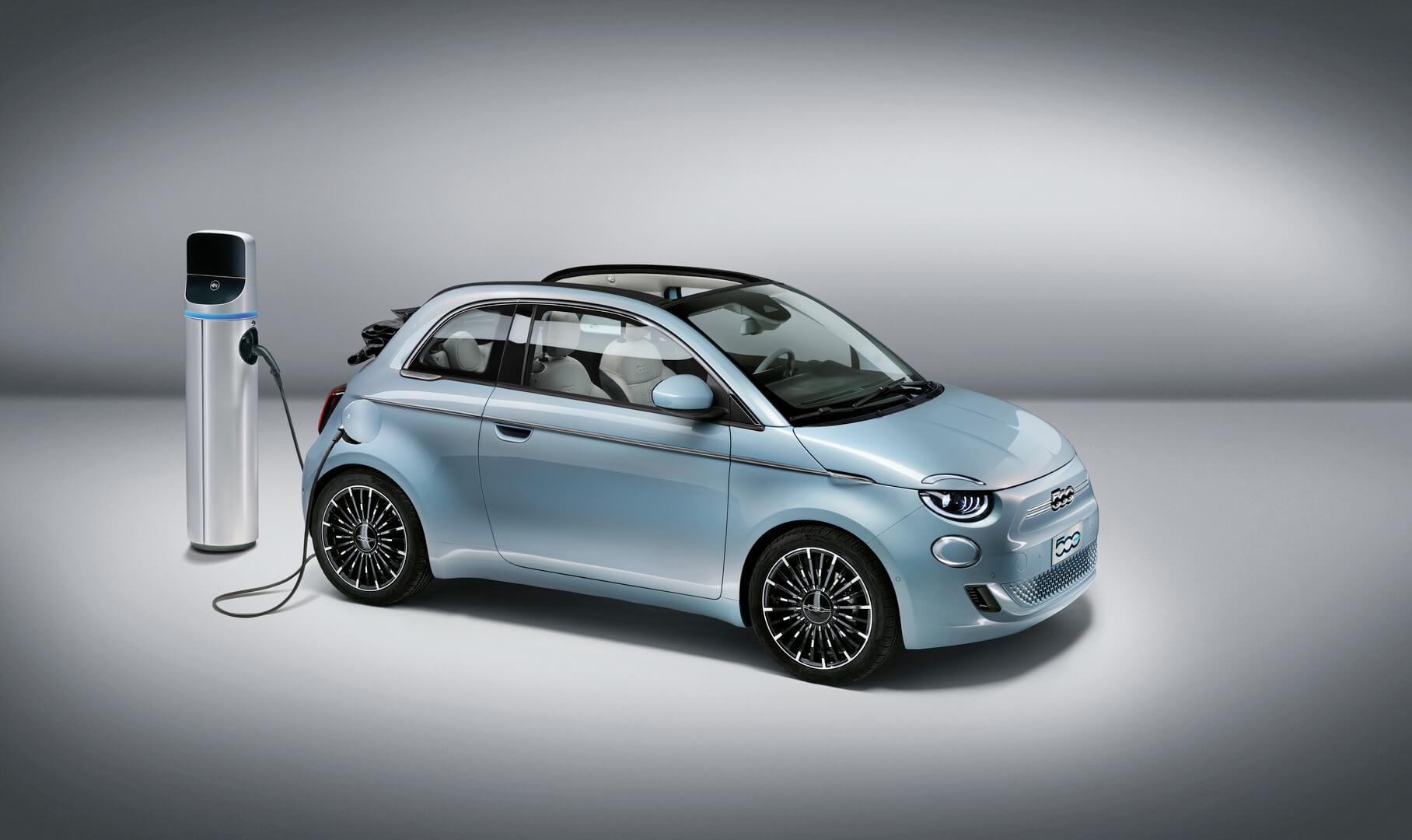 Ограниченная серия электромобиля Fiat 500 «La Prima»