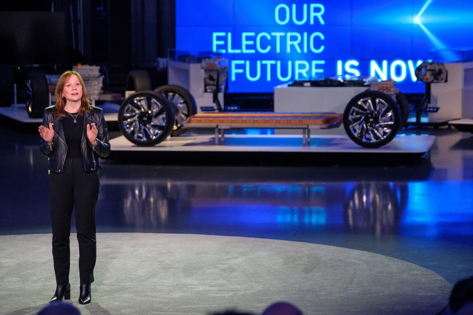Председатель и главный исполнительный директор General Motors Мэри Барра рассказывает о мультибрендовой стратегии технологиях электромобилей GM