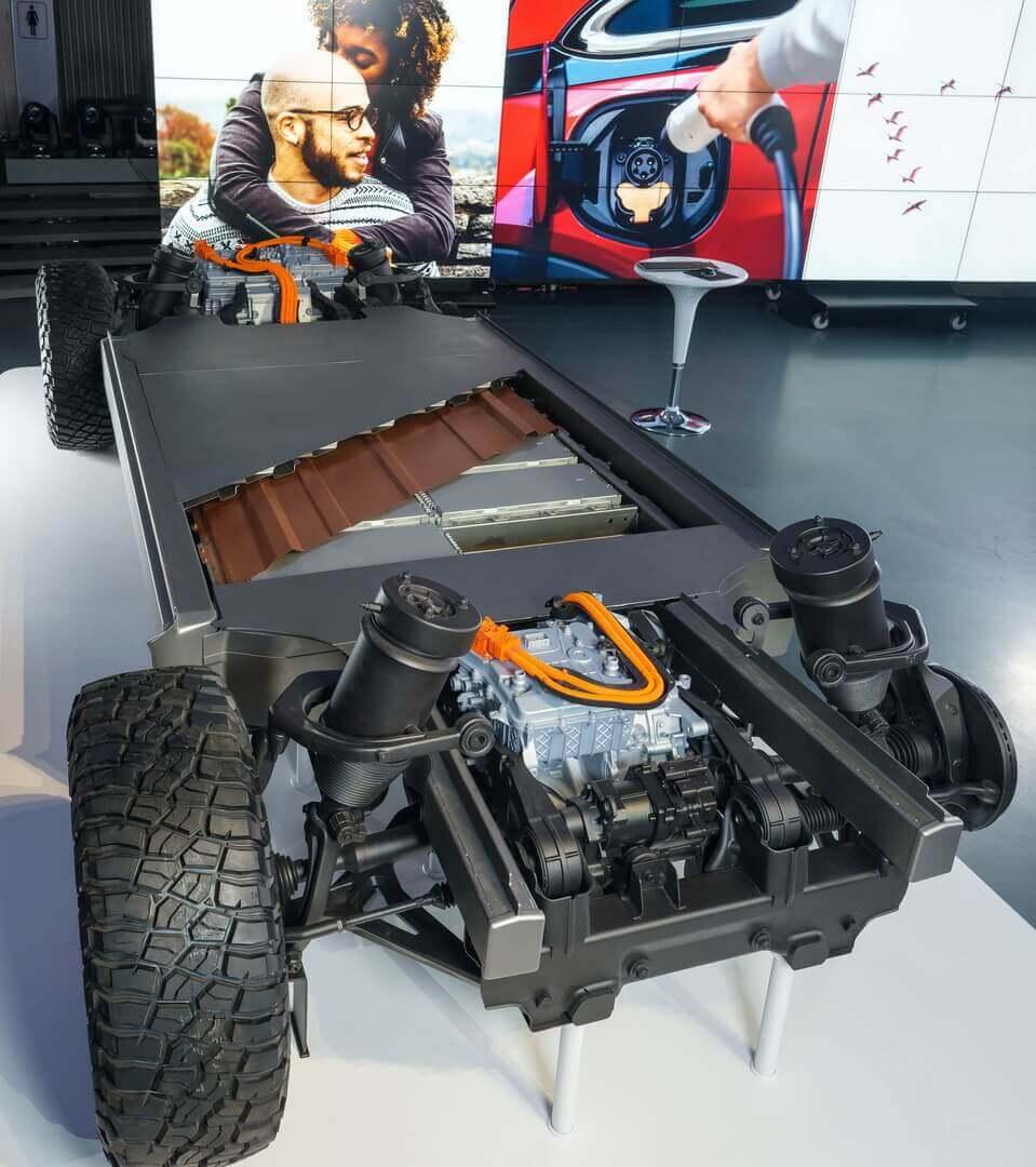 GM представляет новые батареи Ultium и гибкую платформу для своих будущих электрокаров